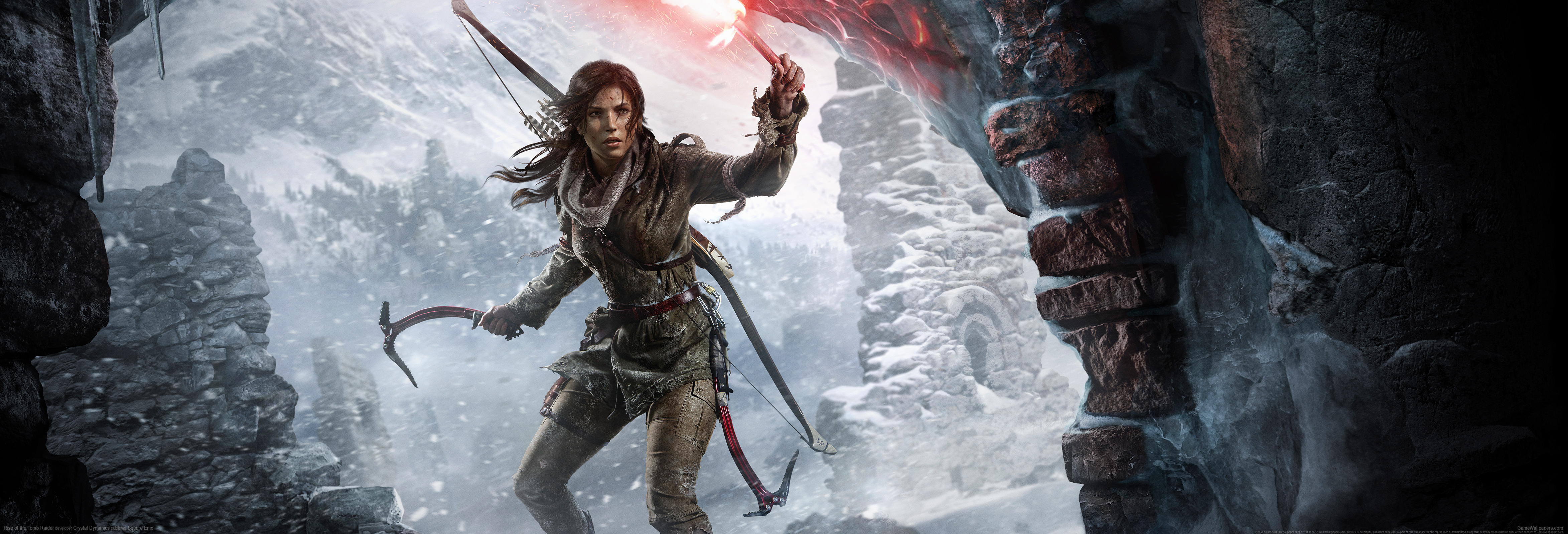 Rise of the Tomb Raider wallpaper 11 4693x1600