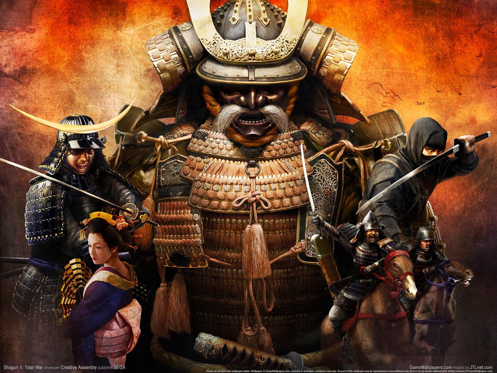 shogun 2%3a total war wallpaper 01 1600x1200