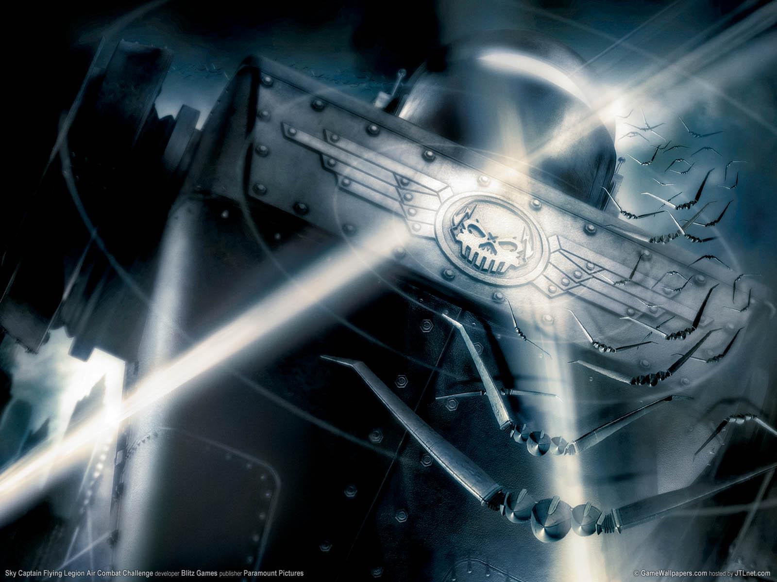 Sky Captain: Flying Legion Air Combat Challenge Hintergrundbild 01 1600x1200