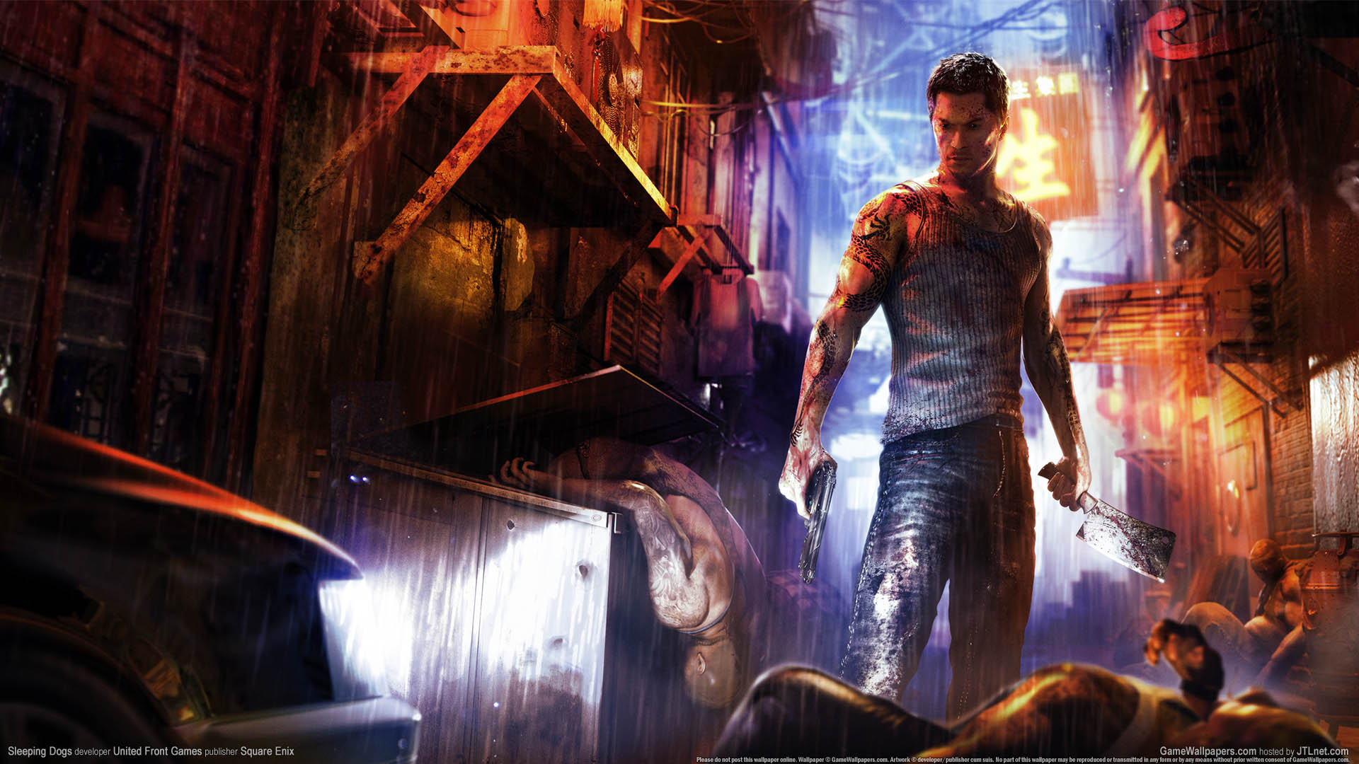 Sleeping Dogs Wallpaper Or Background 03