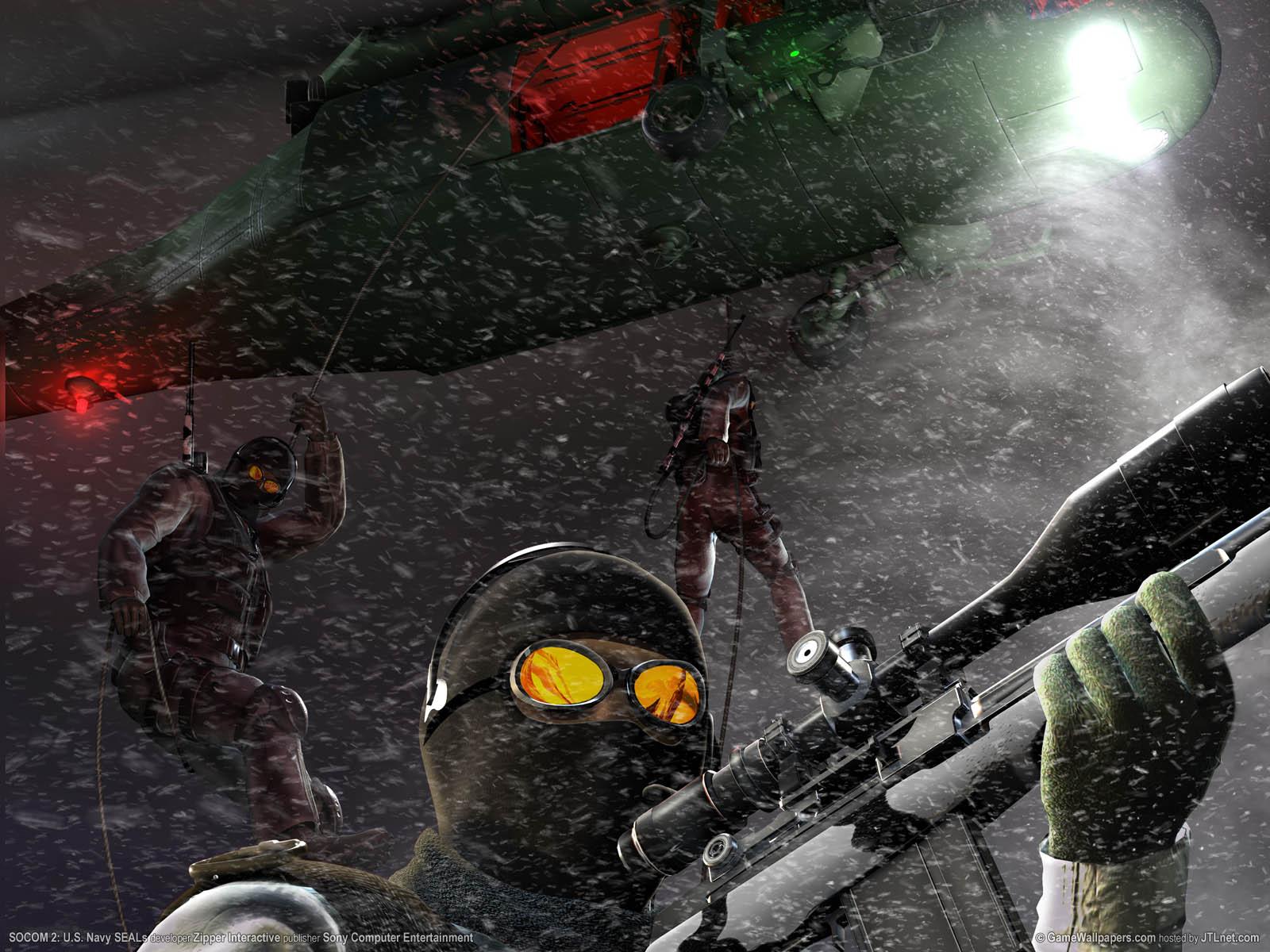 SOCOM 2: U.S. Navy SEALs Hintergrundbild 04 1600x1200