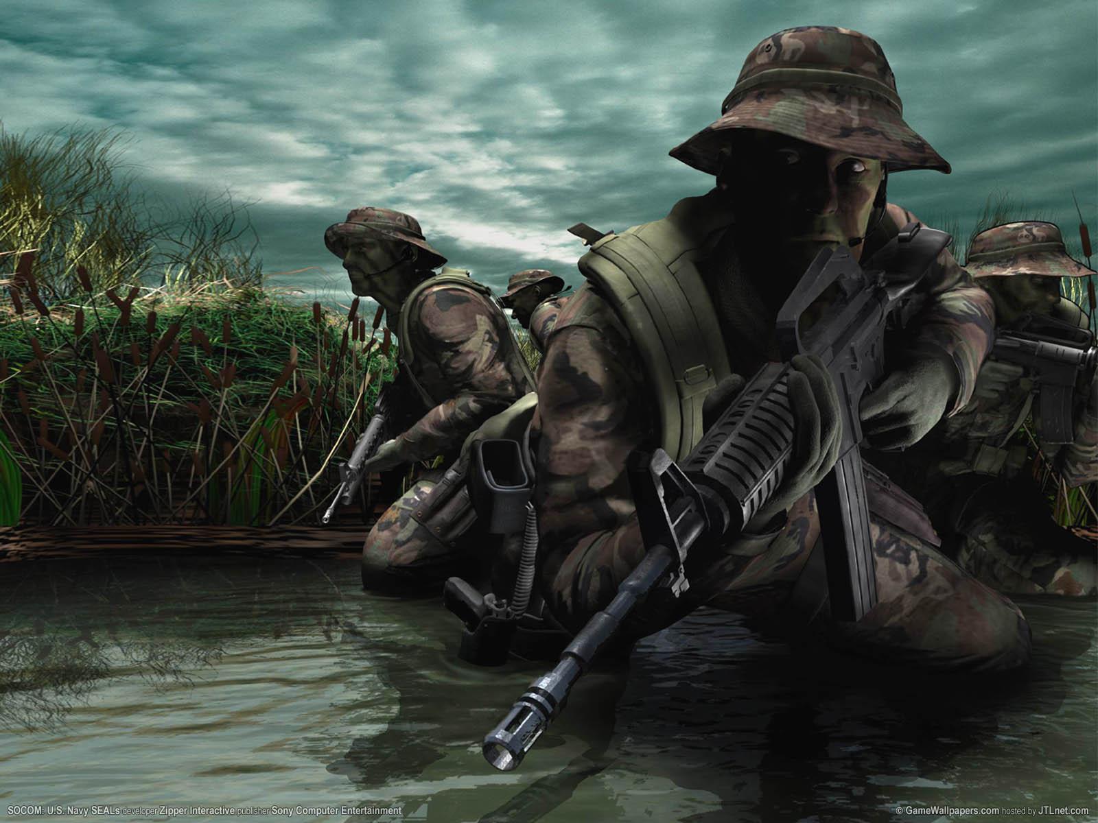 SOCOM: U.S. Navy SEALs Hintergrundbild 02 1600x1200
