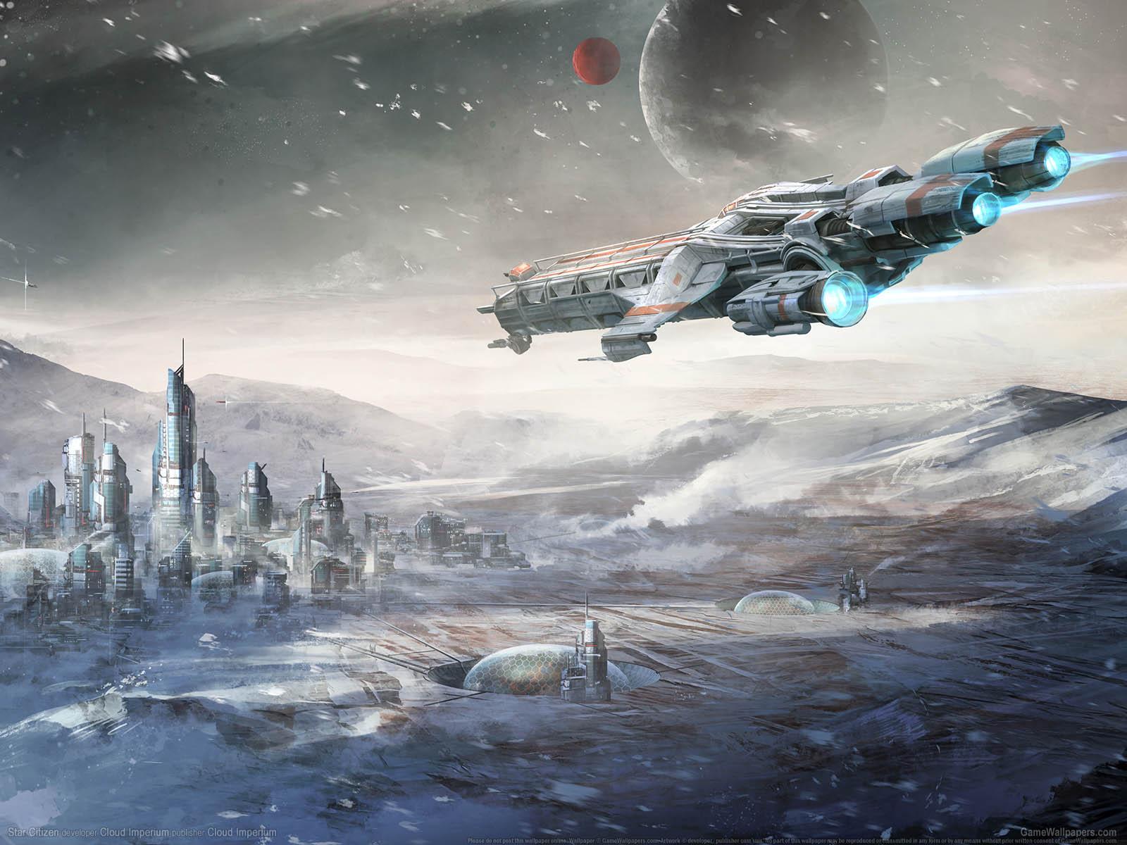 Star Citizenνmmer=07 Hintergrundbild  1600x1200