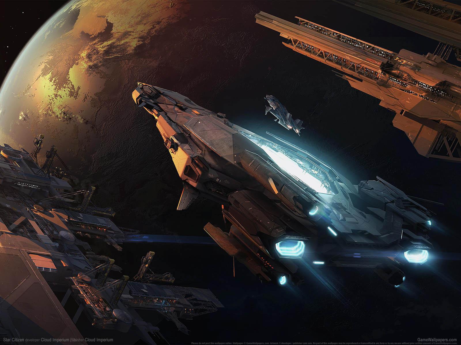 Star Citizenνmmer=32 Hintergrundbild  1600x1200