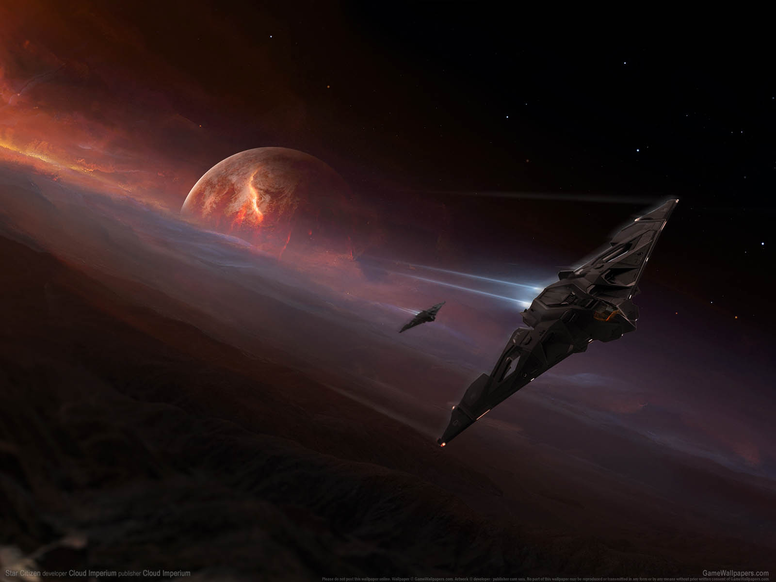 Star Citizenνmmer=65 Hintergrundbild  1600x1200