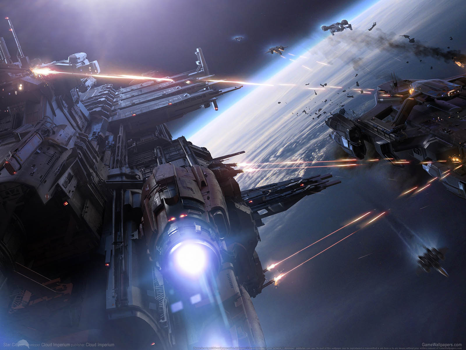 Star Citizenνmmer=69 Hintergrundbild  1600x1200