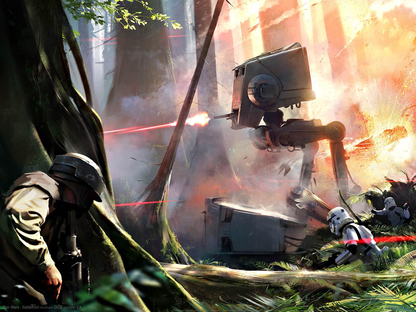 Star Wars - Battlefrontνmmer=01 achtergrond  1600x1200