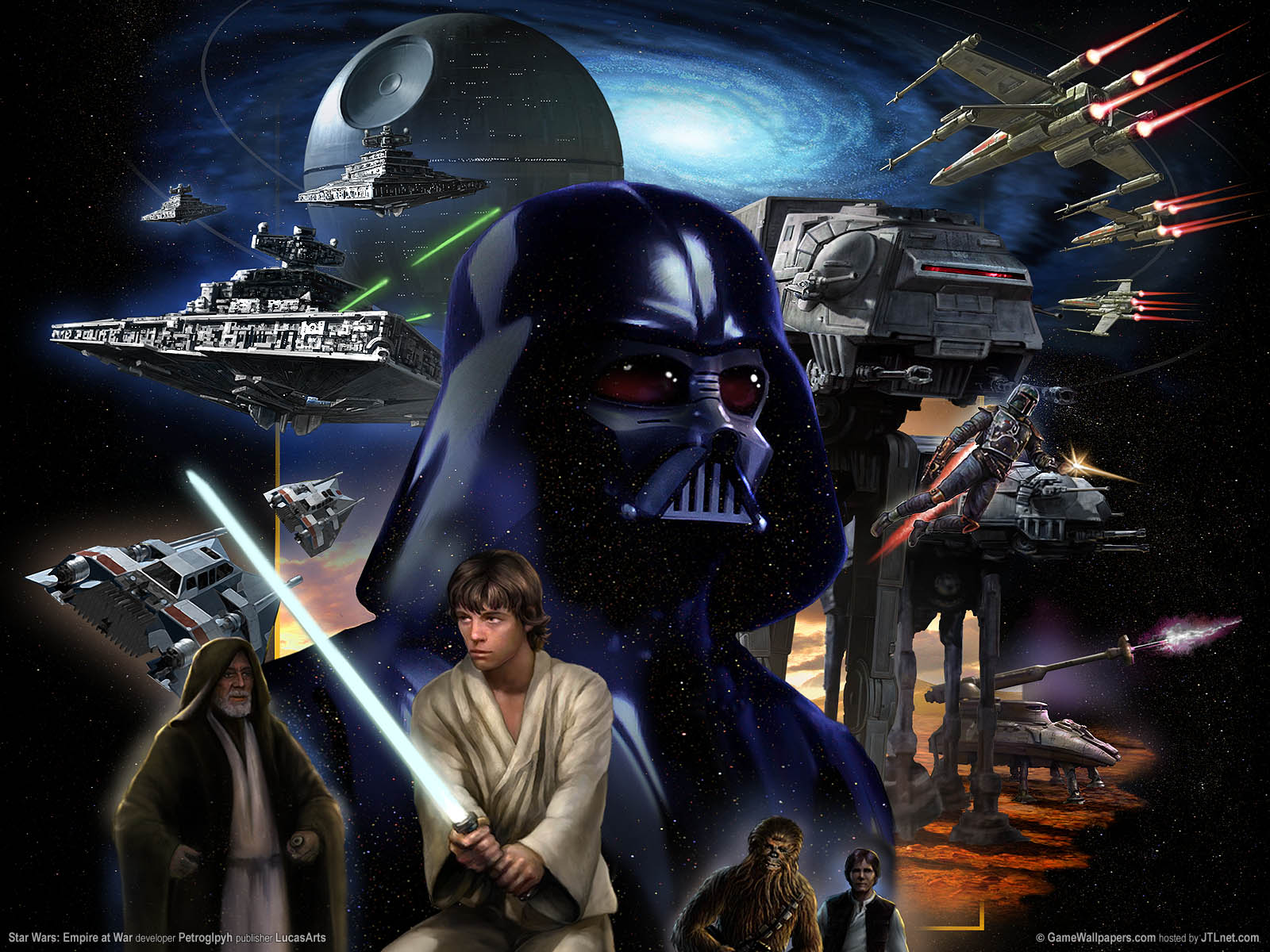 Star Wars Empire At War Wallpapers Or Desktop Backgrounds