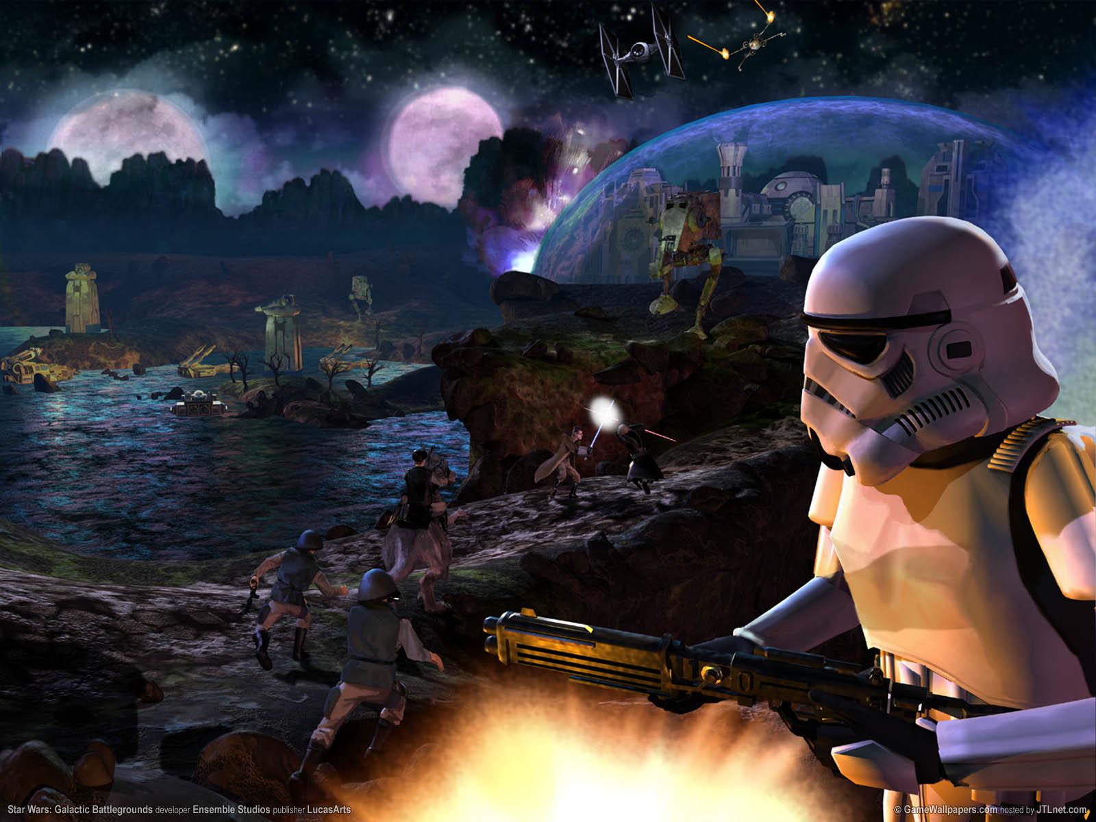 Star Wars: Galactic Battlegrounds wallpaper 02 1600x1200
