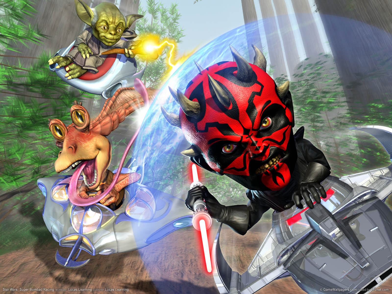 Star Wars: Super Bombad Racing wallpaper 02 1600x1200