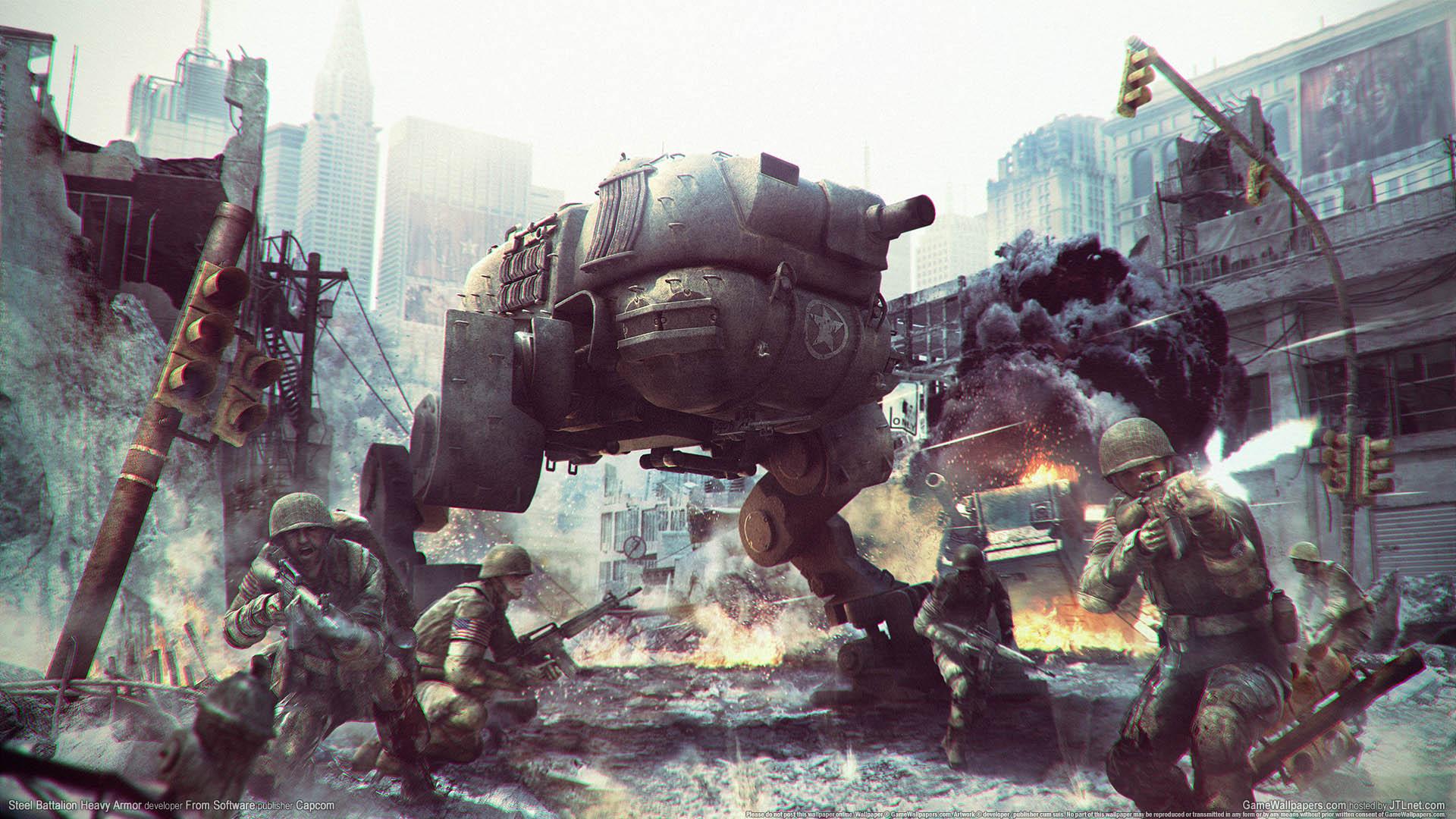 Steel Battalion Heavy Armor achtergrond 01 1920x1080