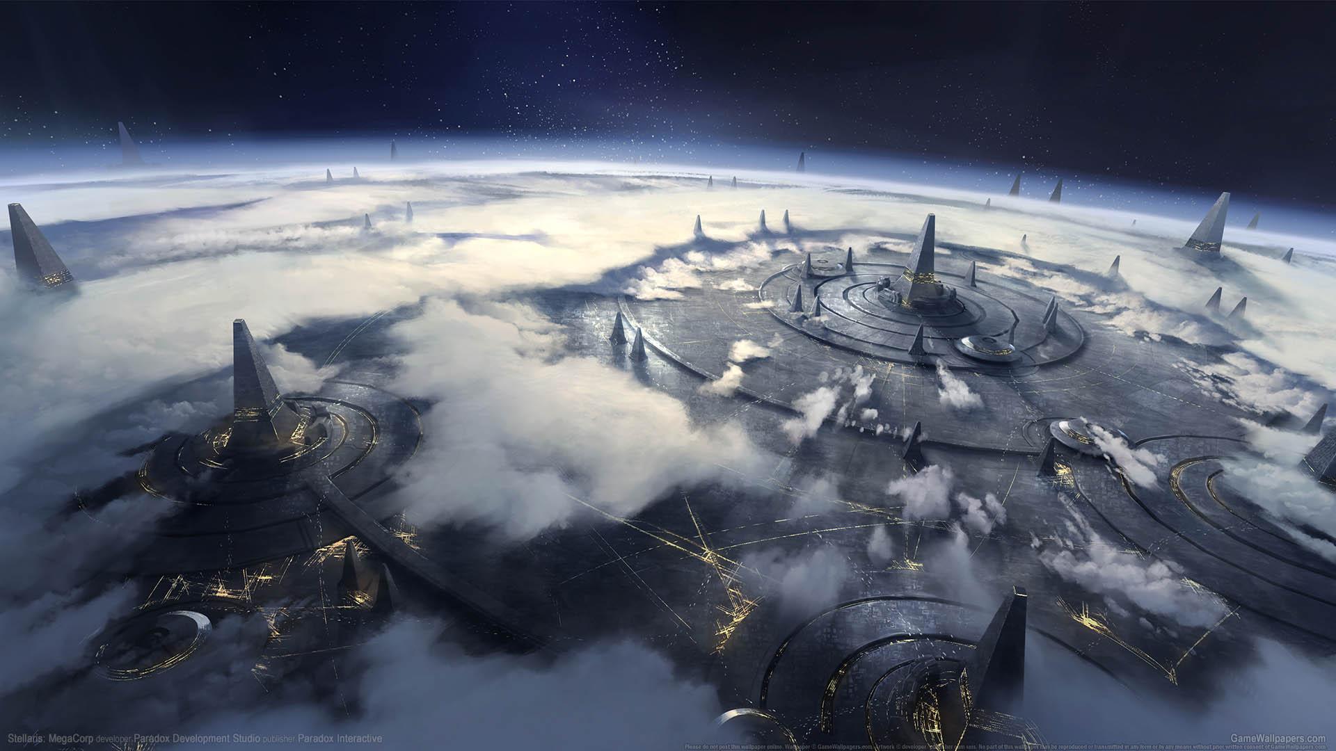 Stellaris: MegaCorp wallpaper 01 1920x1080