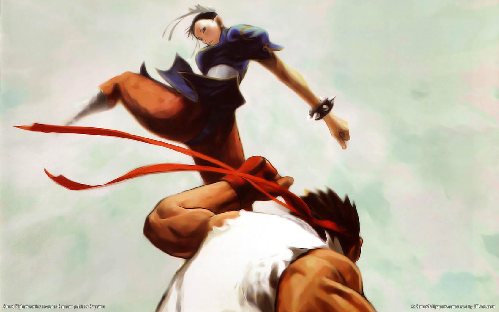 Street Fighter series Hintergrundbild 01 1680x1050