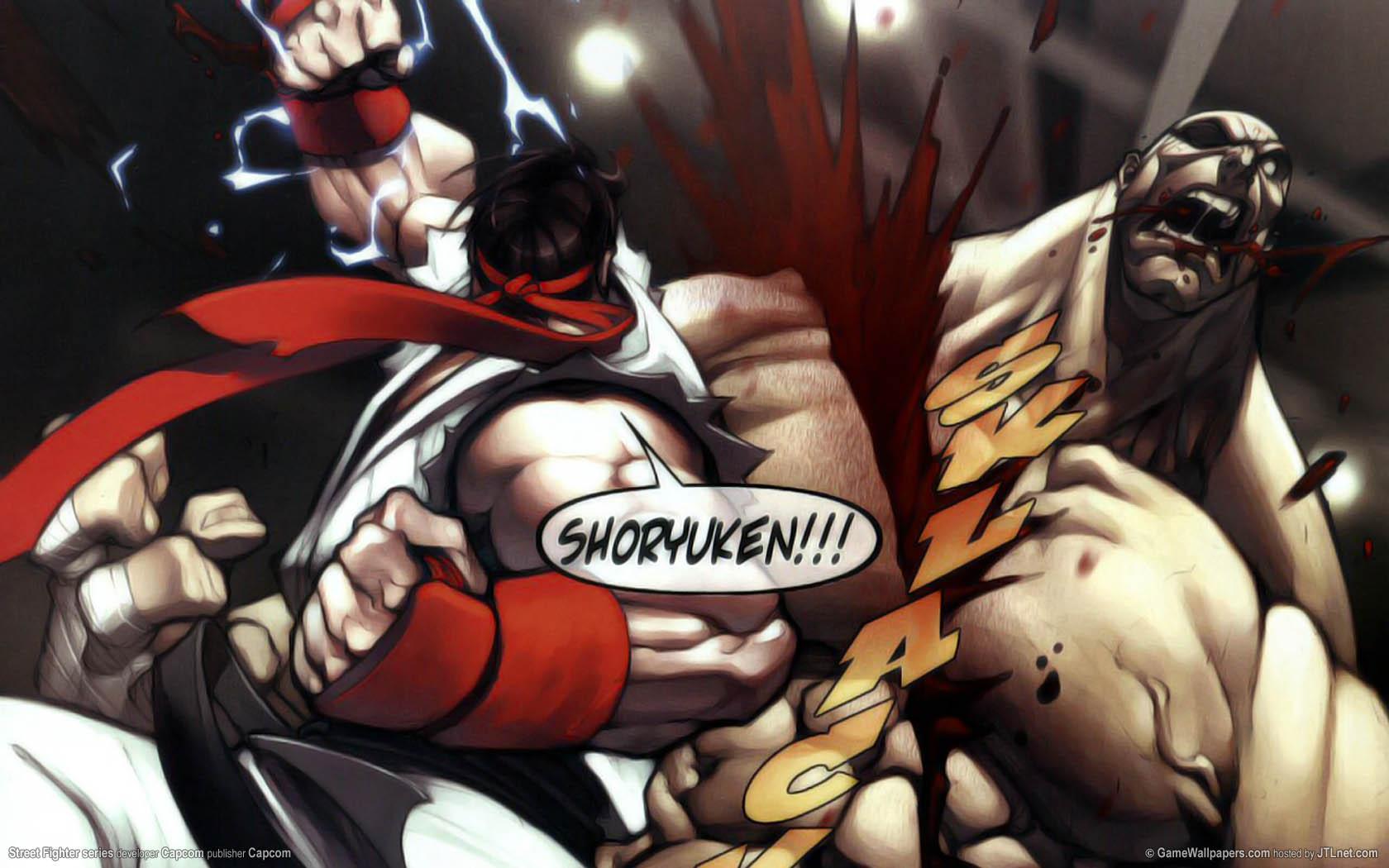 Street Fighter series Hintergrundbild 03 1680x1050