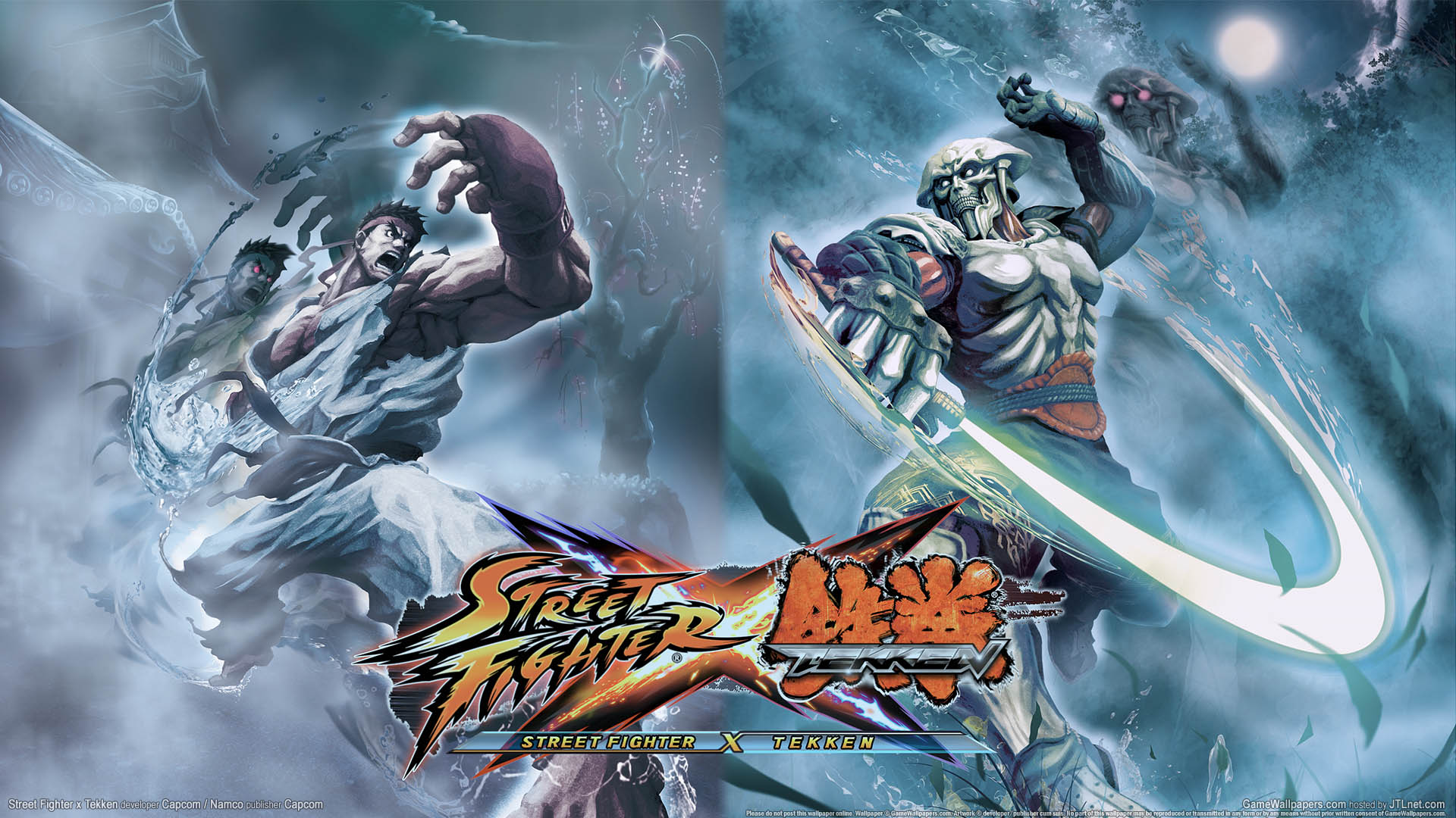 Street Fighter x Tekken wallpaper 03 1920x1080
