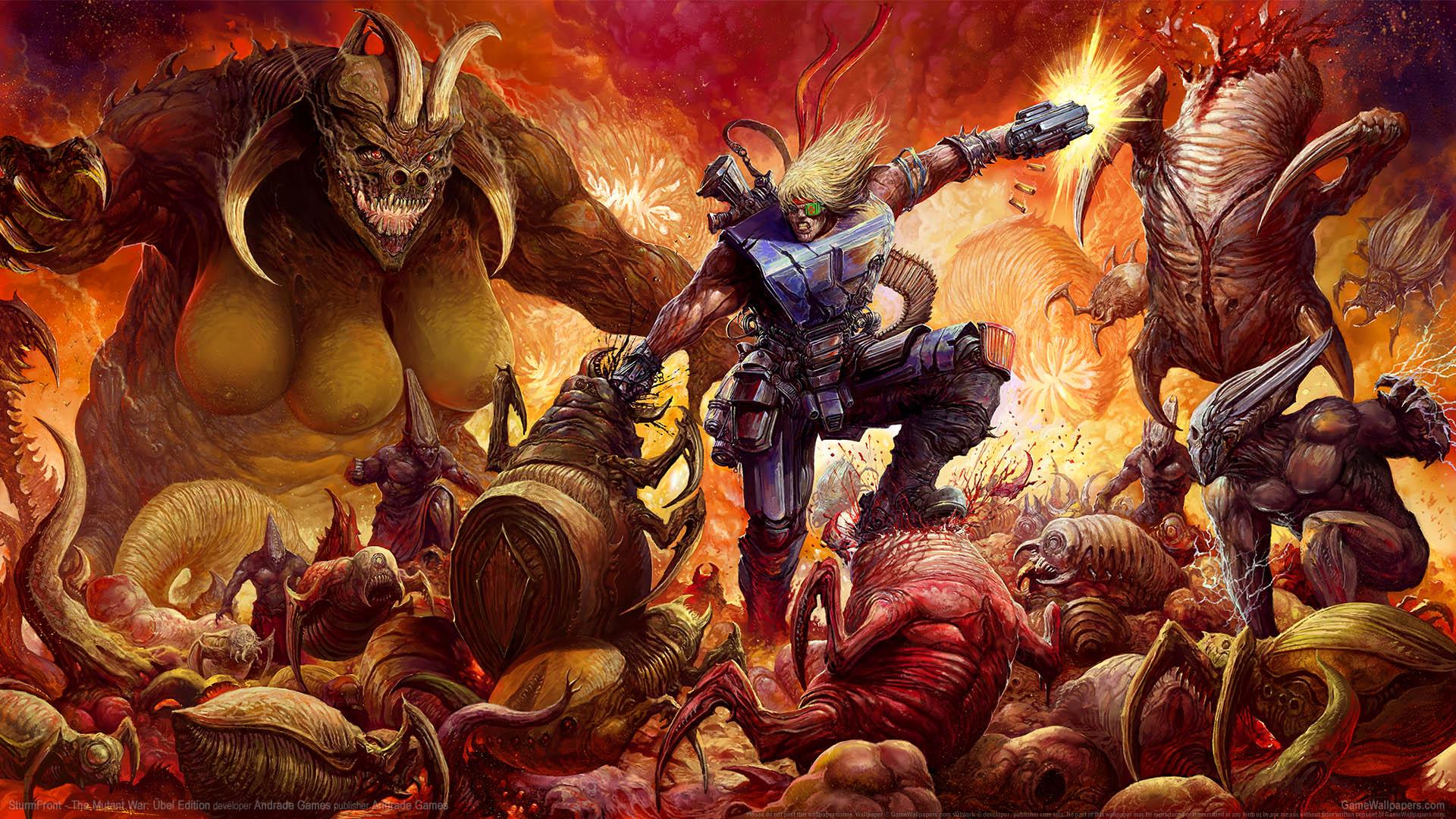 SturmFront - The Mutant War: Ubel Edition wallpaper 01 1920x1080