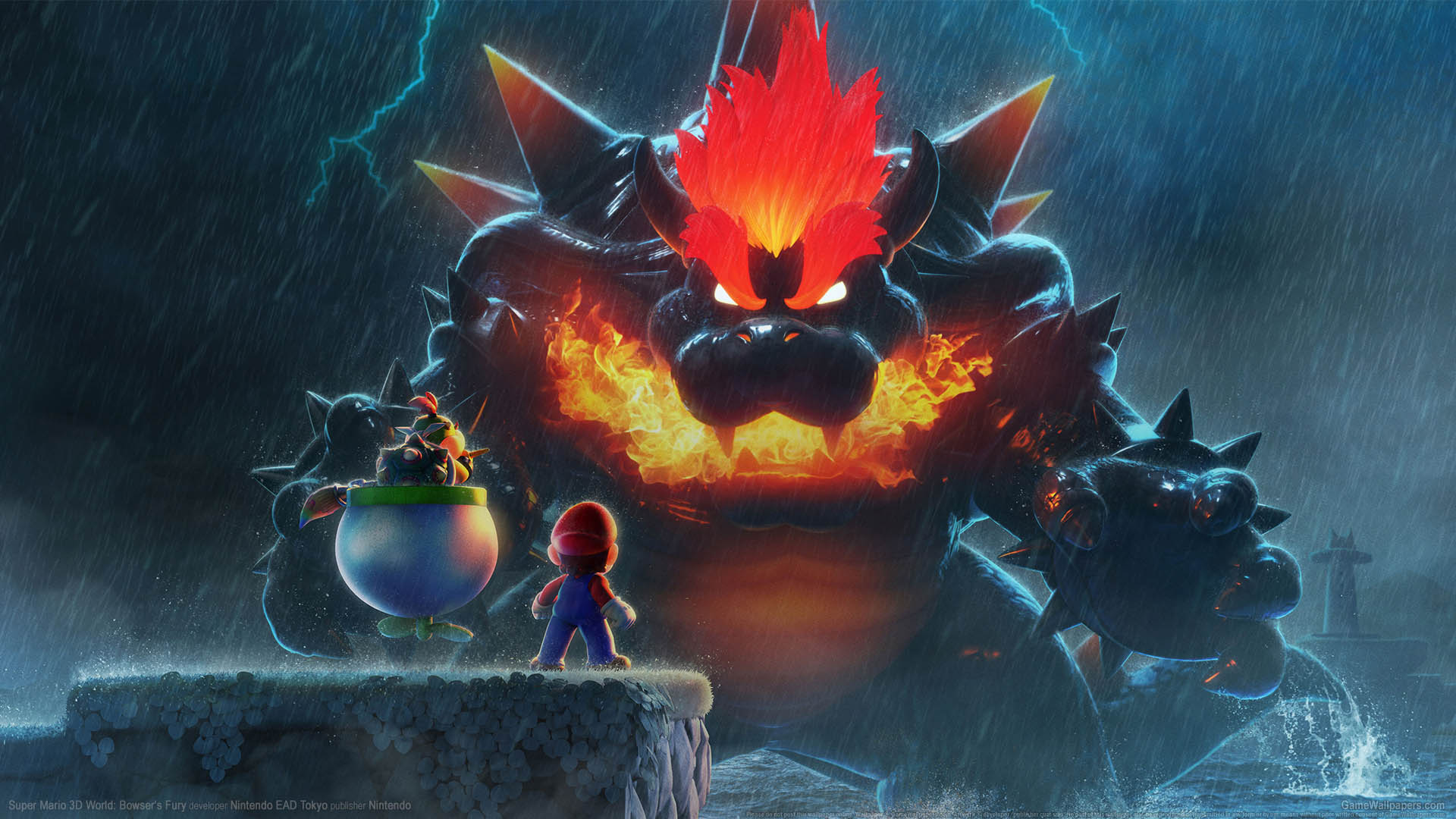 Super Mario 3D World: Bowser's Fury Hintergrundbild 01 1920x1080
