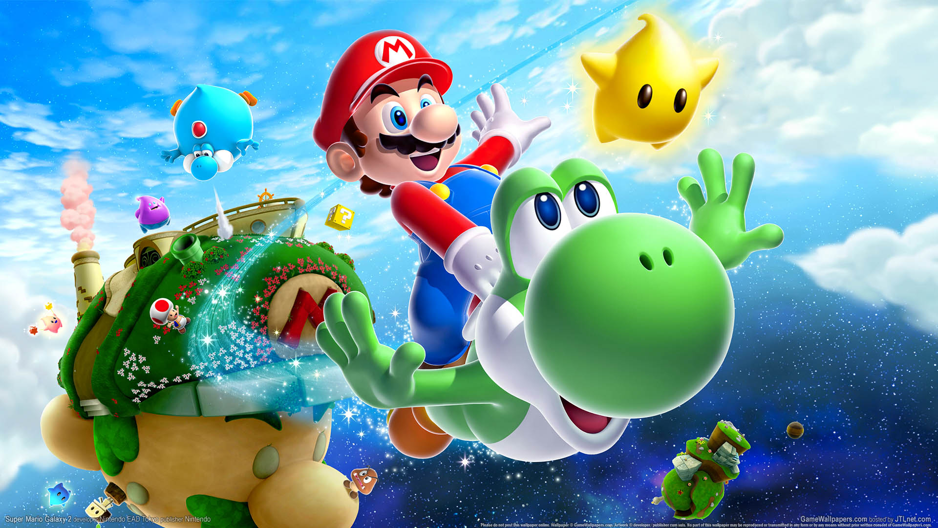 Super Mario Galaxy 2 wallpaper 01 1920x1080
