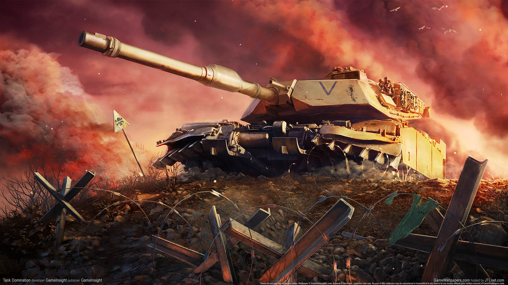 Tank Domination wallpaper 01 1920x1080