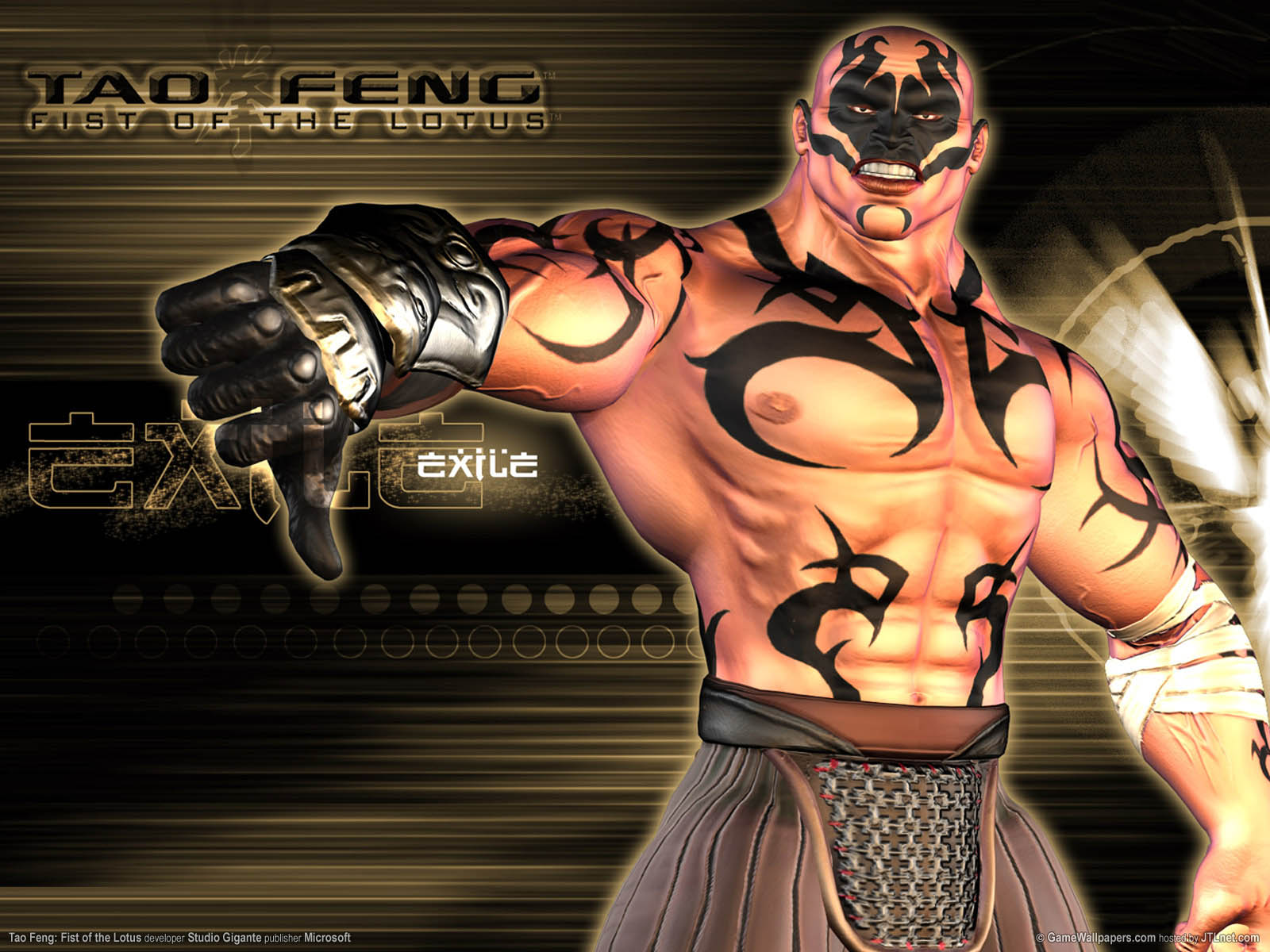 Tao Feng: Fist of the Lotus wallpaper 03 1600x1200
