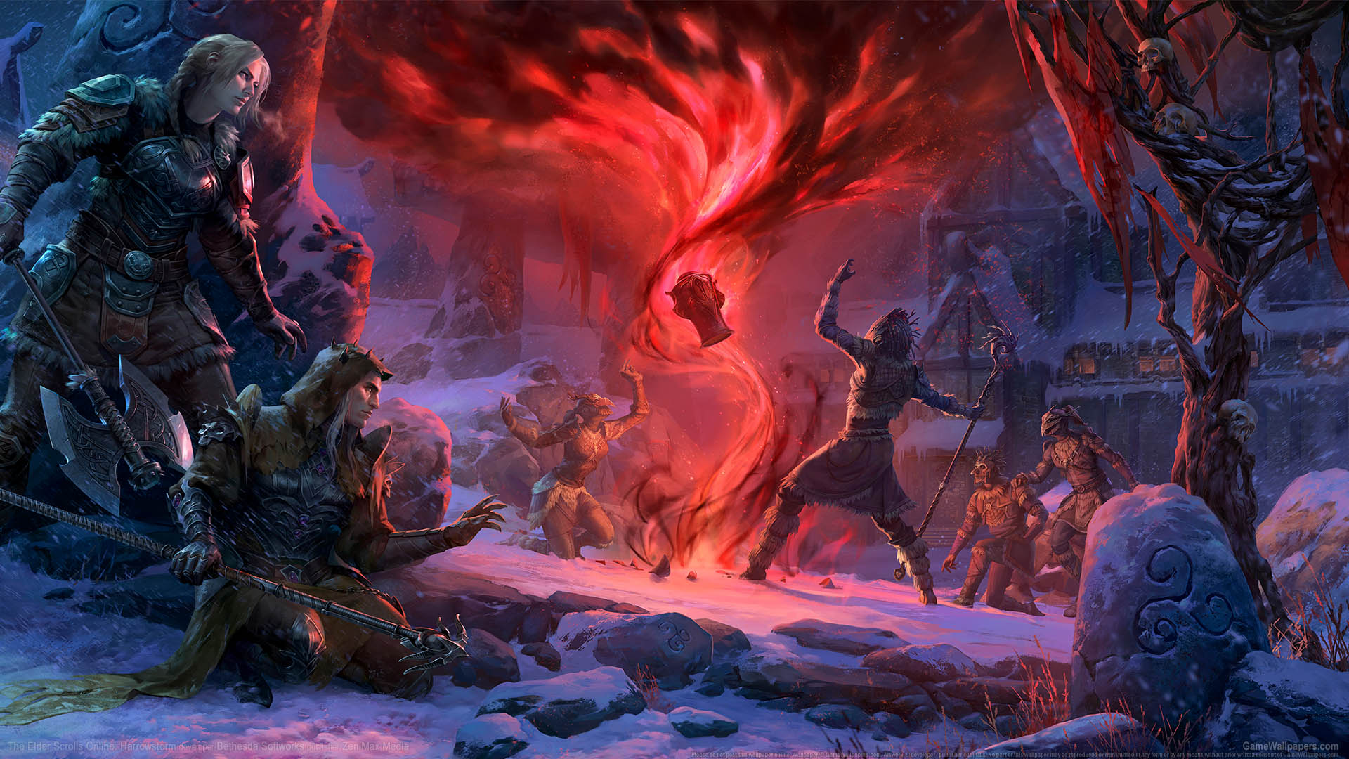 The Elder Scrolls Online: Harrowstorm wallpaper 01 1920x1080