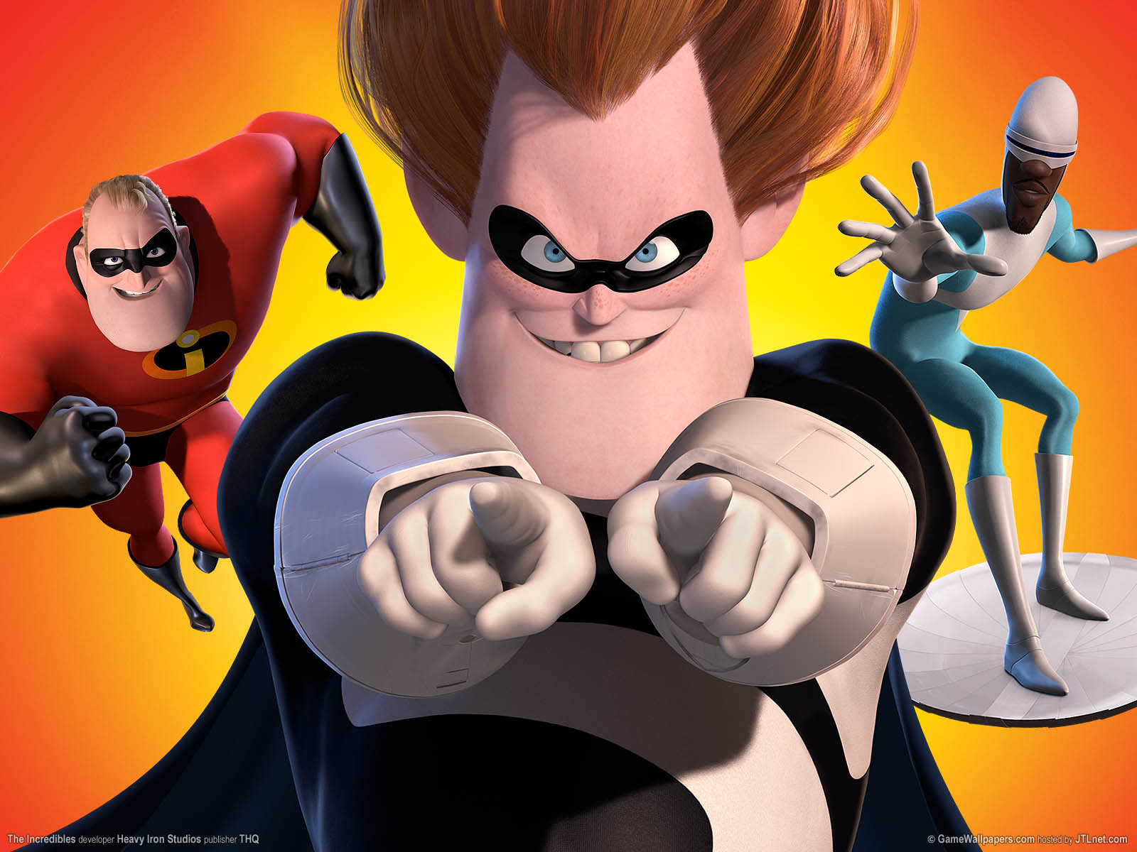 The Incredibles Hintergrundbild 02 1600x1200