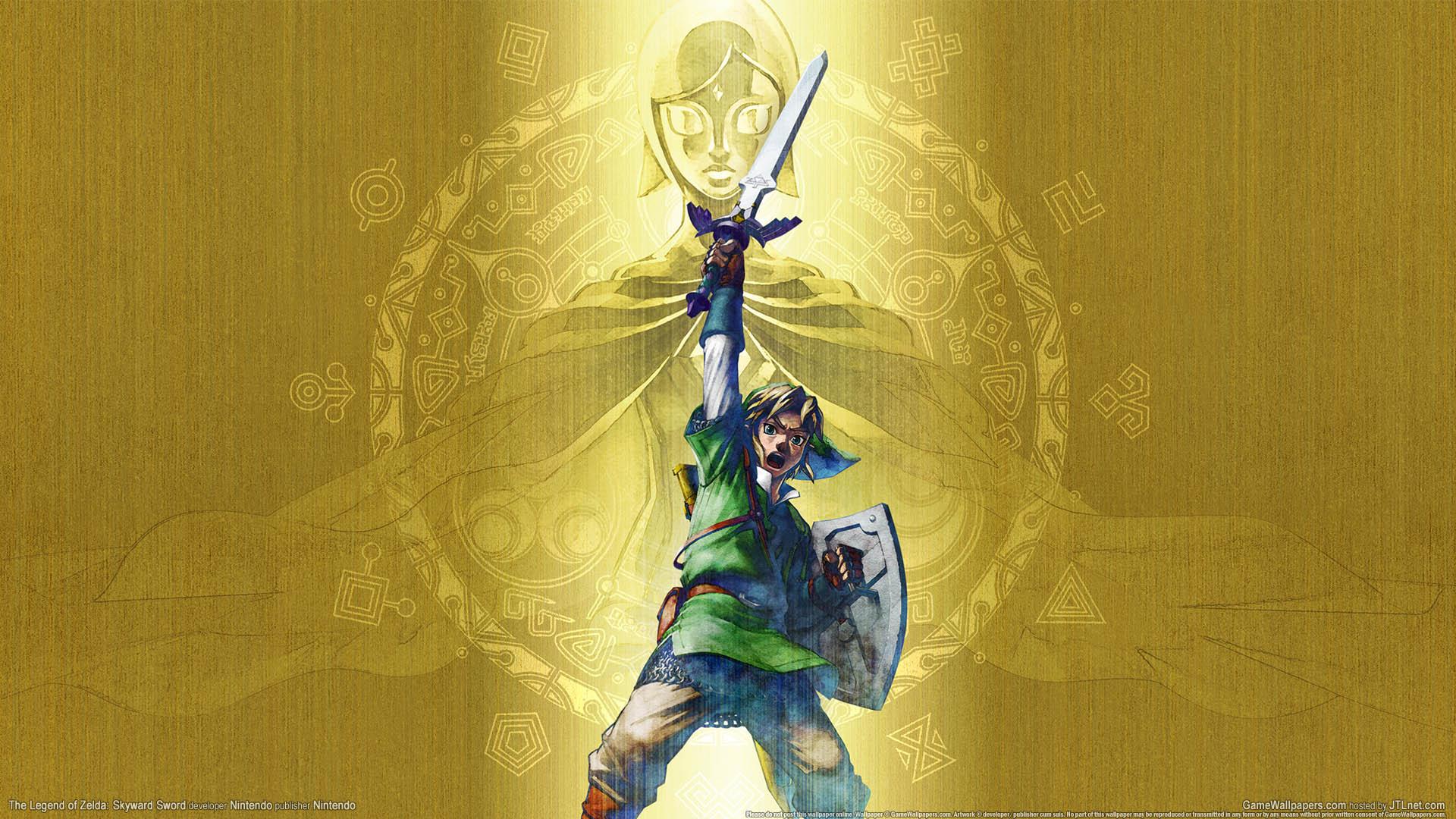 The Legend of Zelda: Skyward Sword wallpaper 01 1920x1080