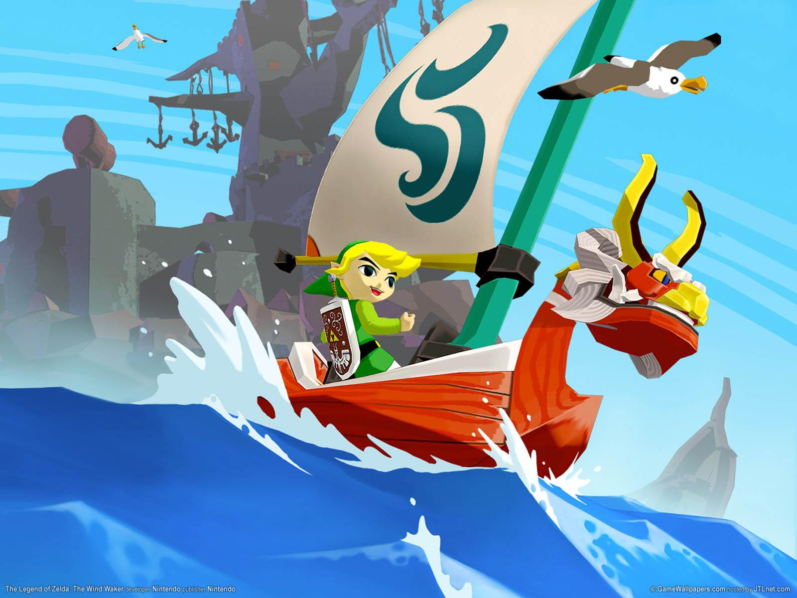 The Legend of Zelda: The Wind Waker wallpaper 01 1600x1200