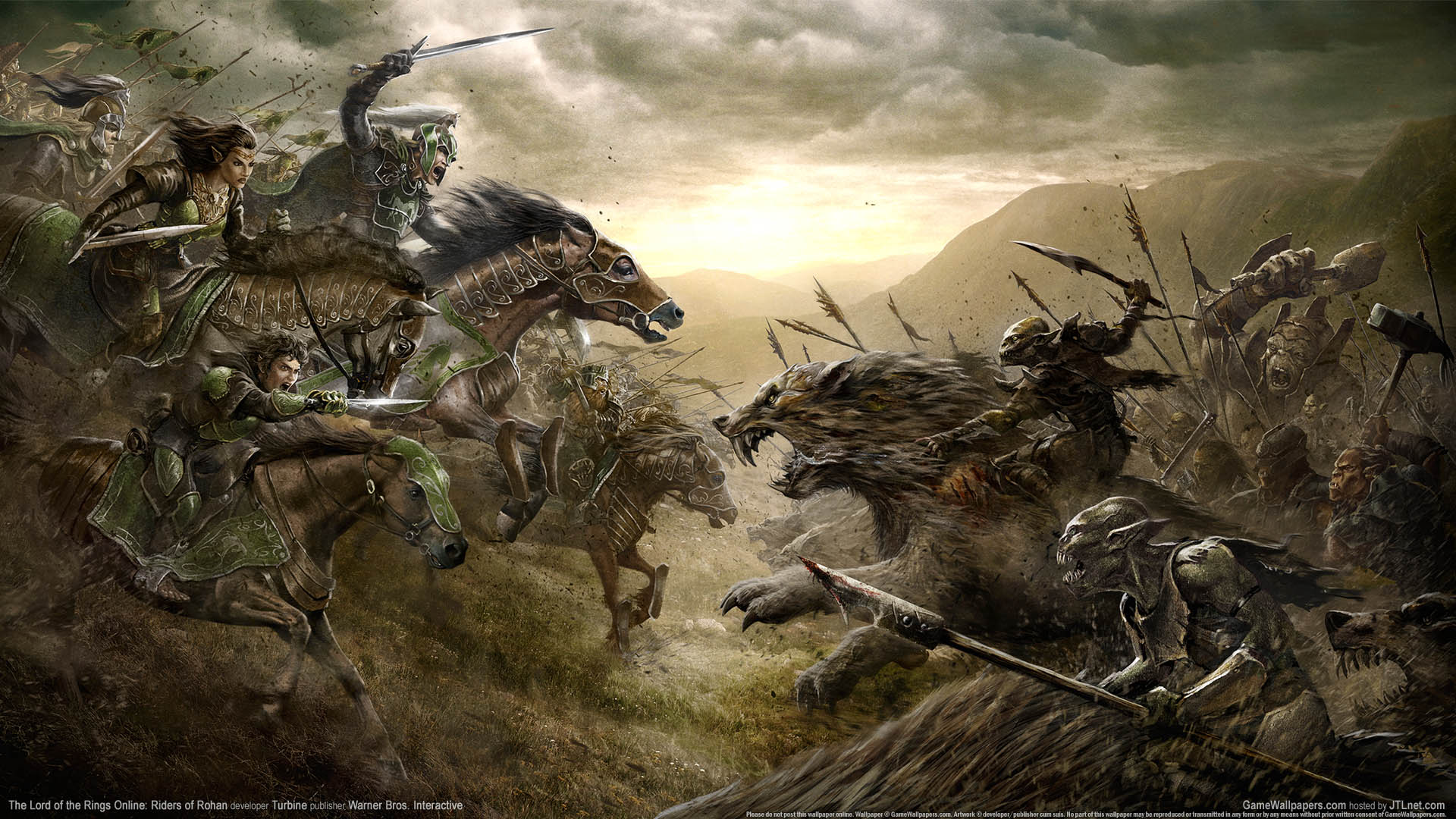 The Lord of the Rings Online: Riders of Rohan wallpaper 01 ...