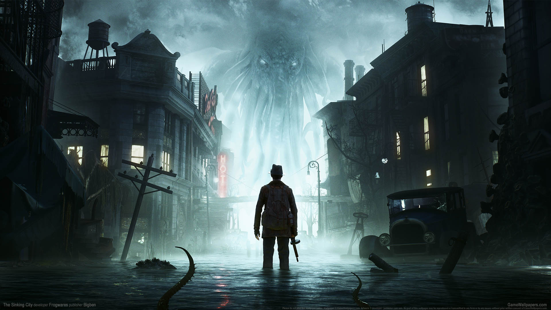 The Sinking City fond d'écran 01 1920x1080