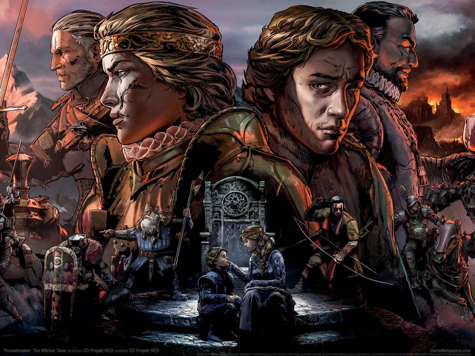 Thronebreaker: The Witcher Talesνmmer=01 achtergrond  1600x1200