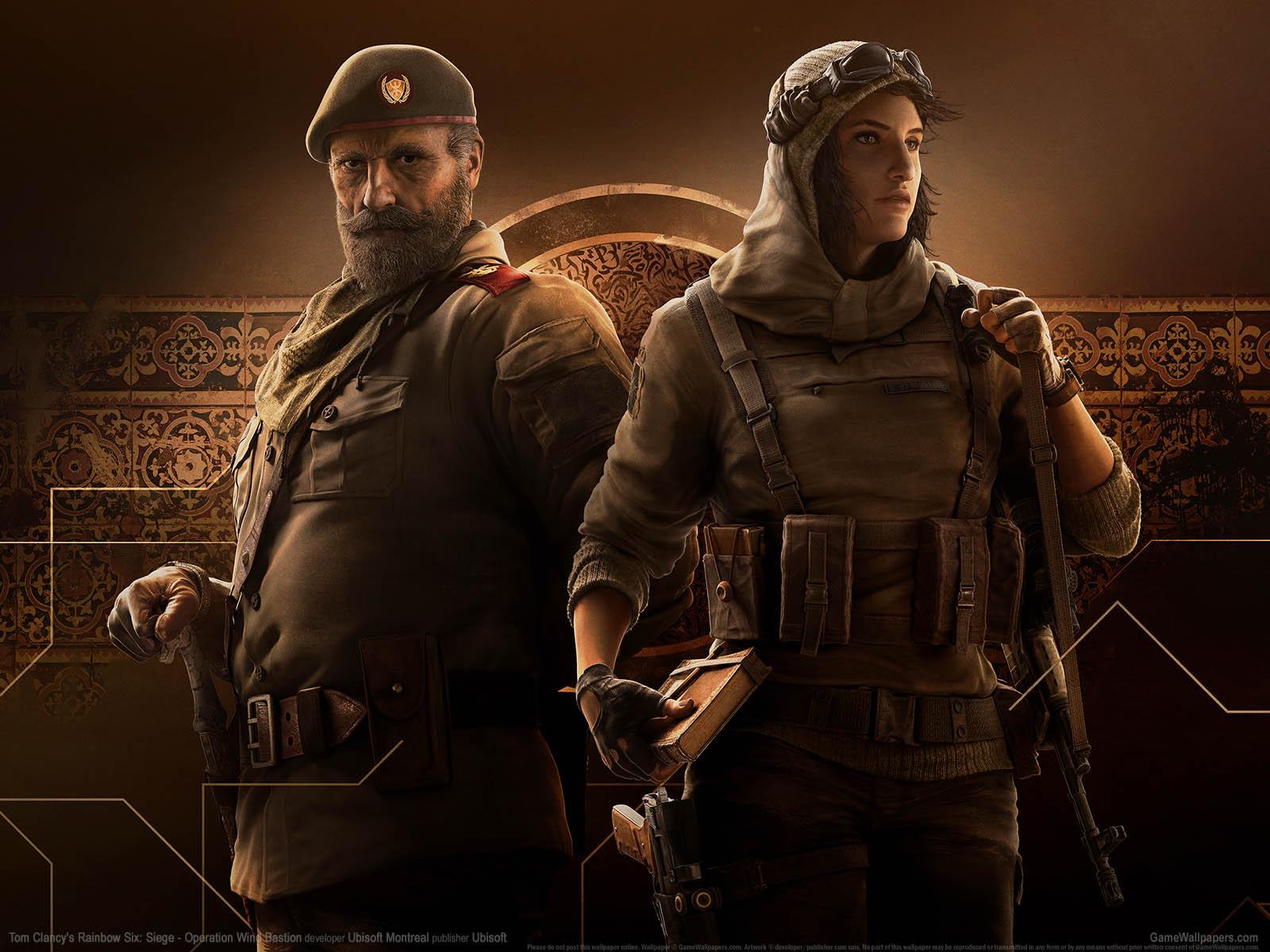 Tom Clancy's Rainbow Six: Siege - Operation Wind Bastionνmmer=02 Hintergrundbild  1600x1200