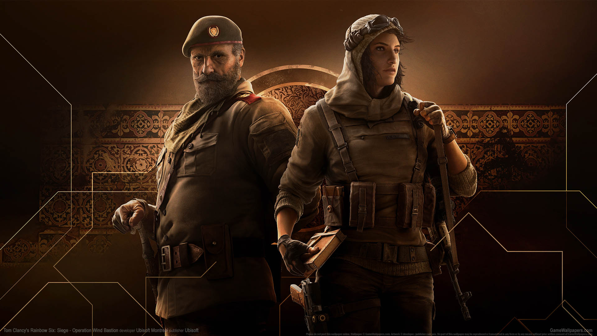 Tom Clancy's Rainbow Six: Siege - Operation Wind Bastion achtergrond 02 1920x1080