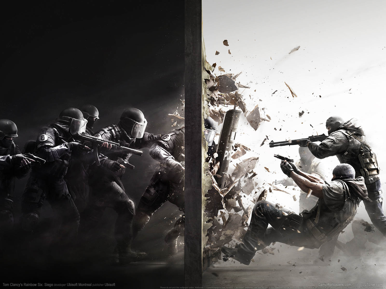 Tom Clancy's Rainbow Six: Siegeνmmer=01 Hintergrundbild  1600x1200