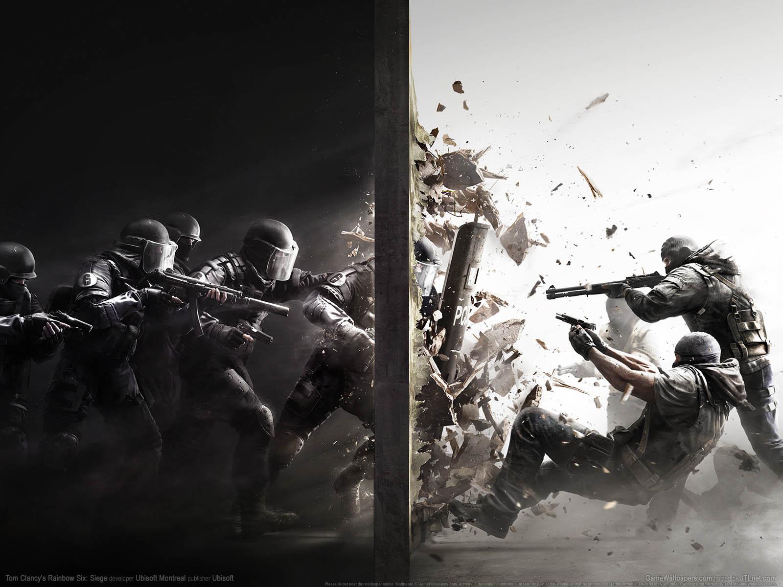 Tom Clancy's Rainbow Six: Siegeνmmer=01 achtergrond  1600x1200