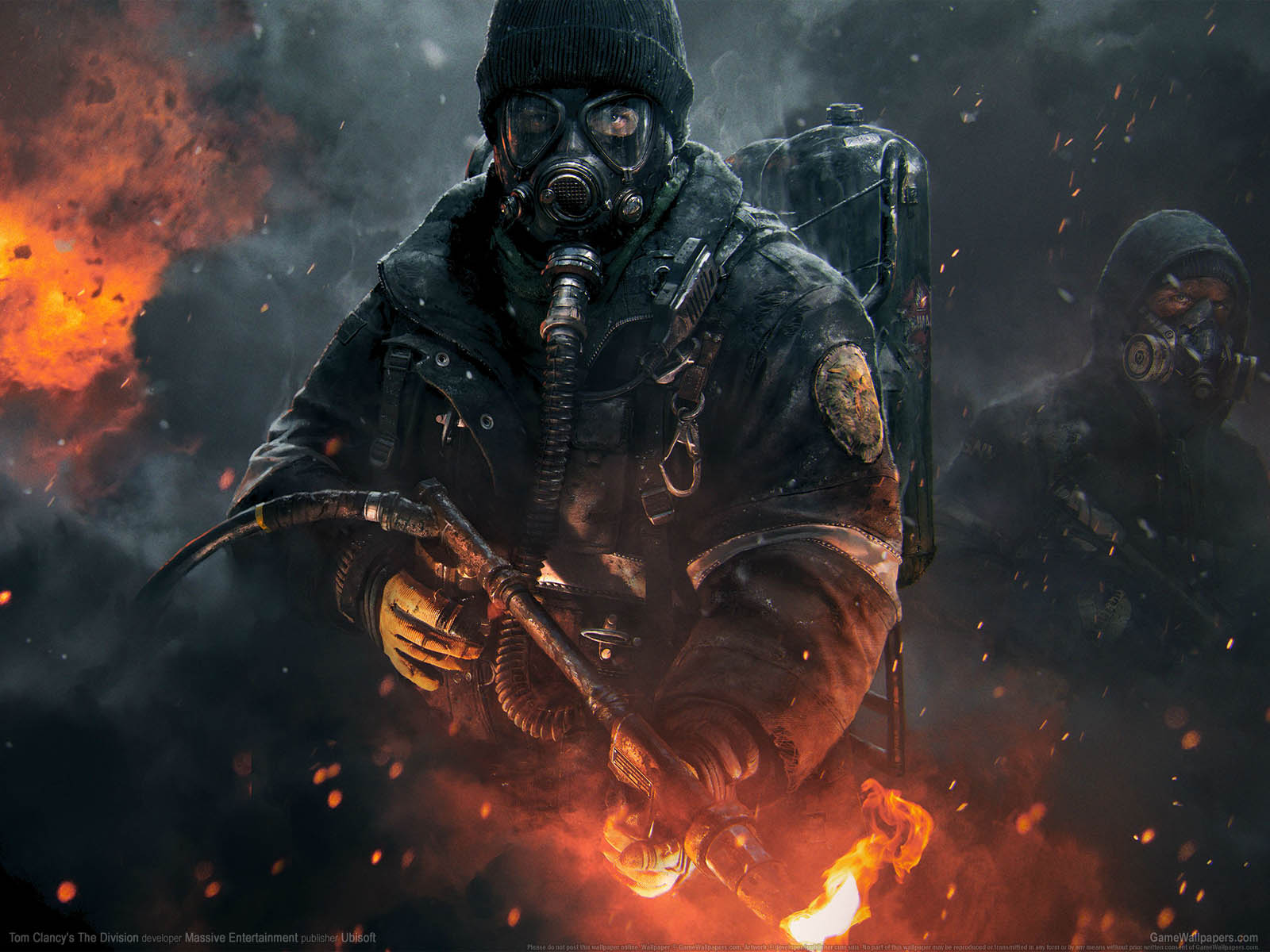 Tom Clancy's The Divisionνmmer=05 achtergrond  1600x1200