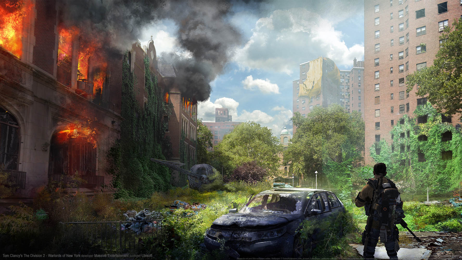 Tom Clancy's The Division 2 - Warlords of New York wallpaper 03 1920x1080