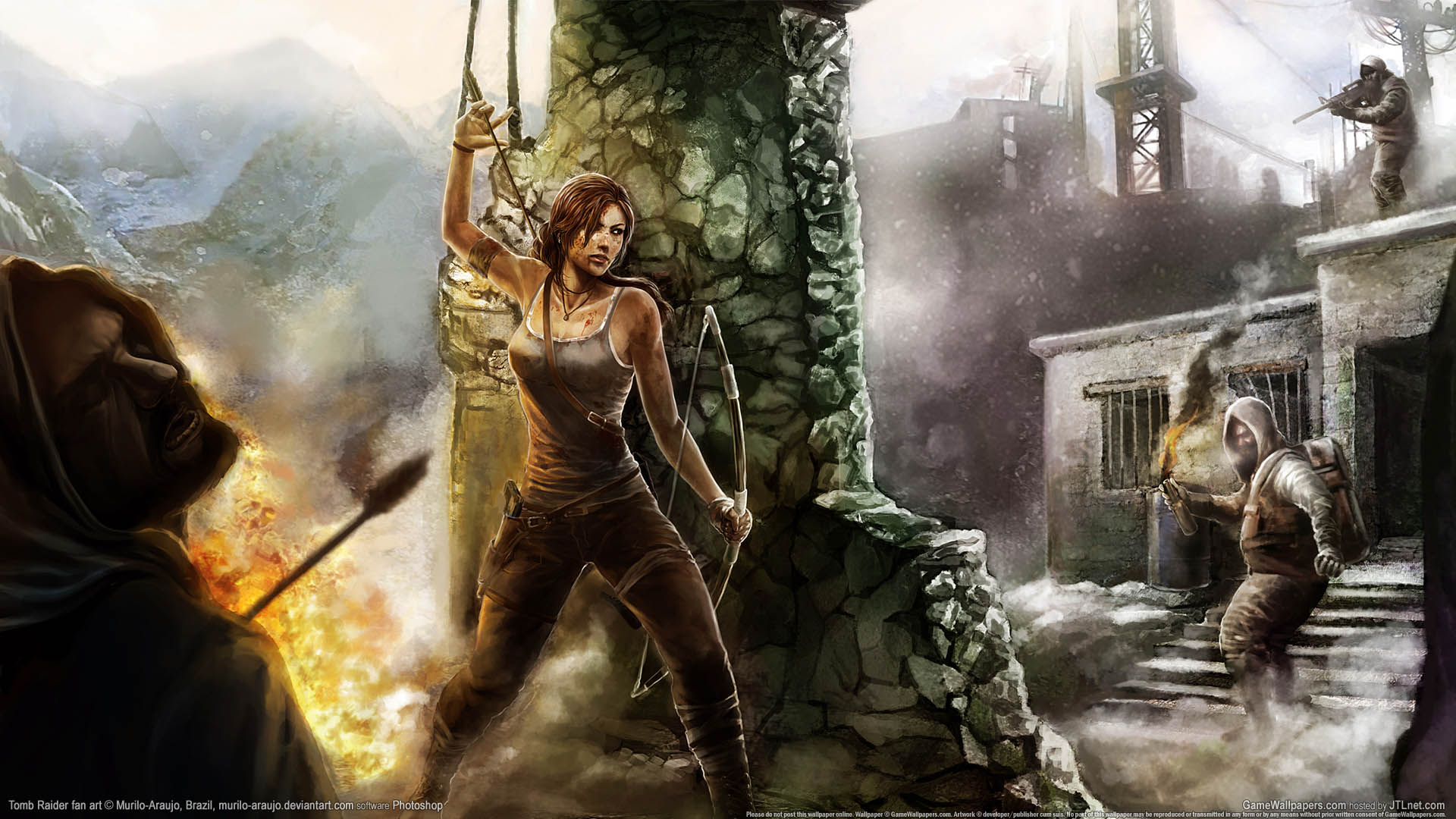 Tomb Raider fan art Hintergrundbild 02 1920x1080