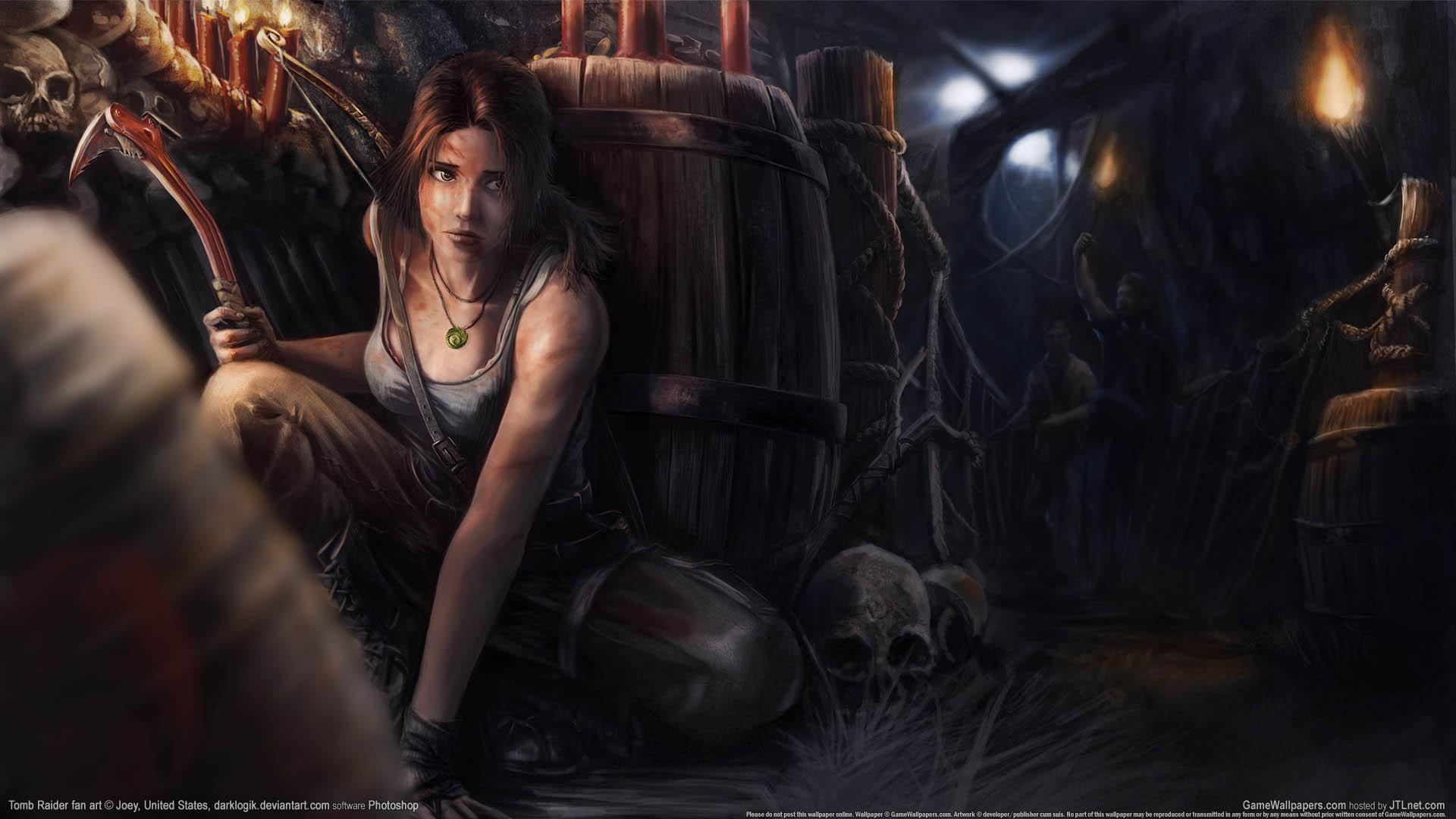 Tomb Raider fan art Hintergrundbild 03 1920x1080