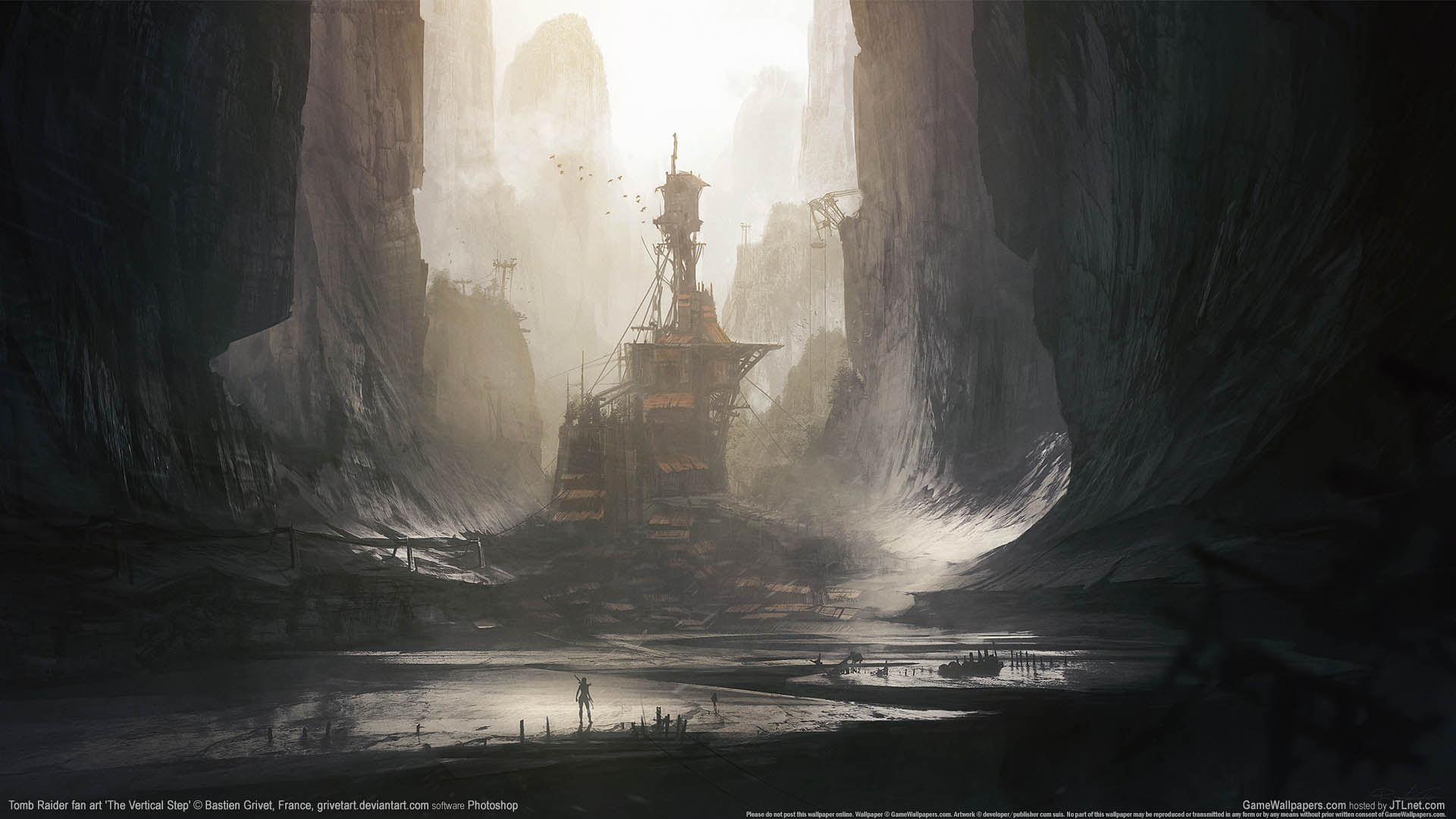 Tomb Raider fan art Hintergrundbild 05 1920x1080