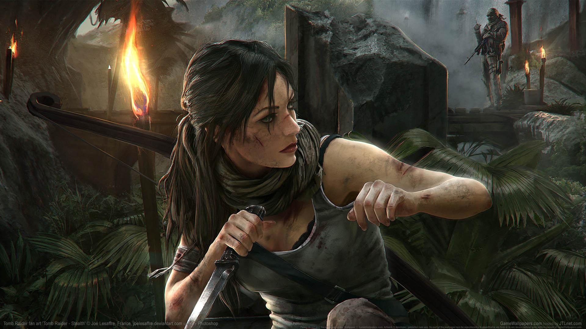 Tomb Raider fan art Hintergrundbild 09 1920x1080