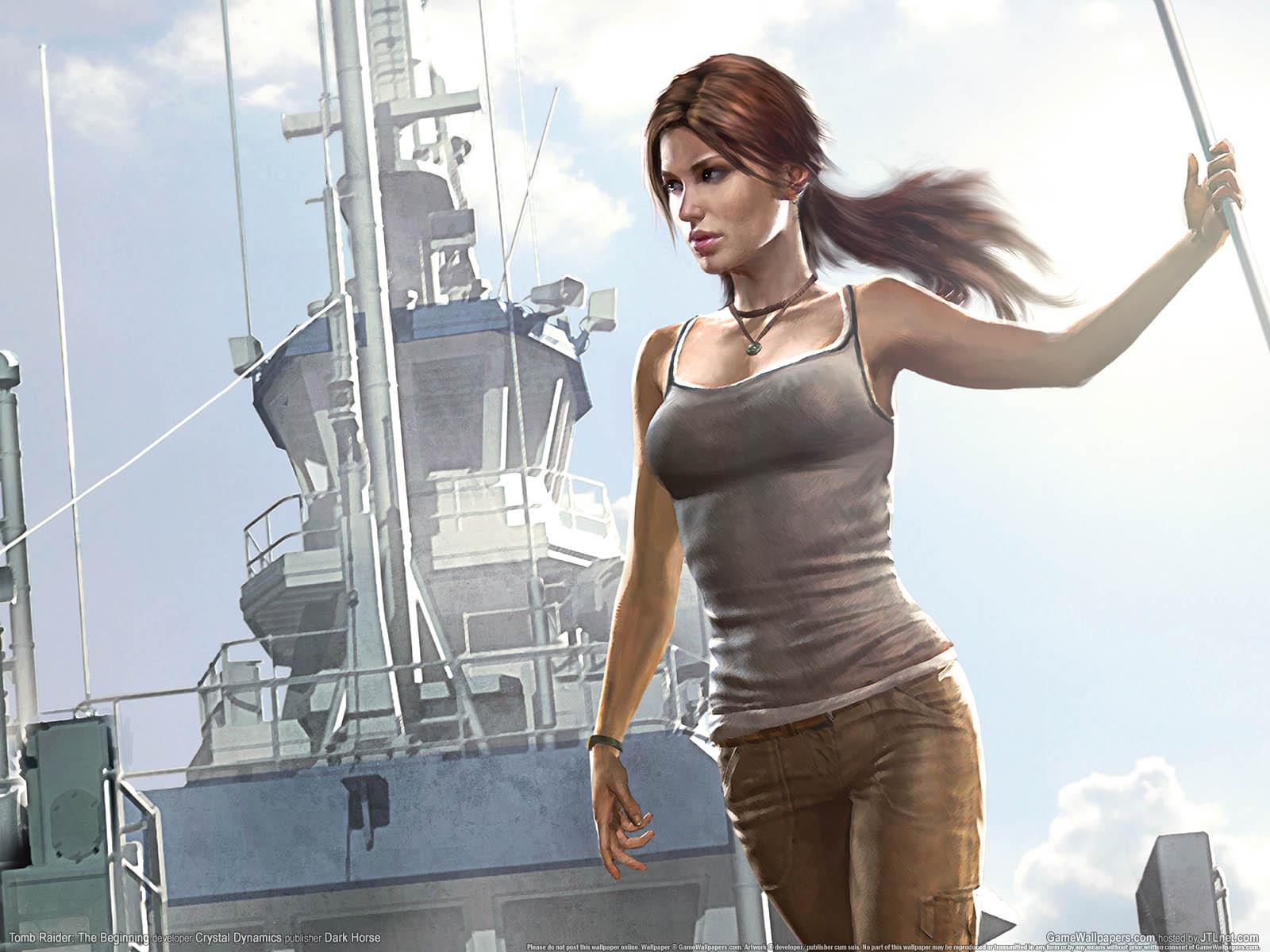 Tomb Raider: The Beginningνmmer=01 achtergrond  1600x1200