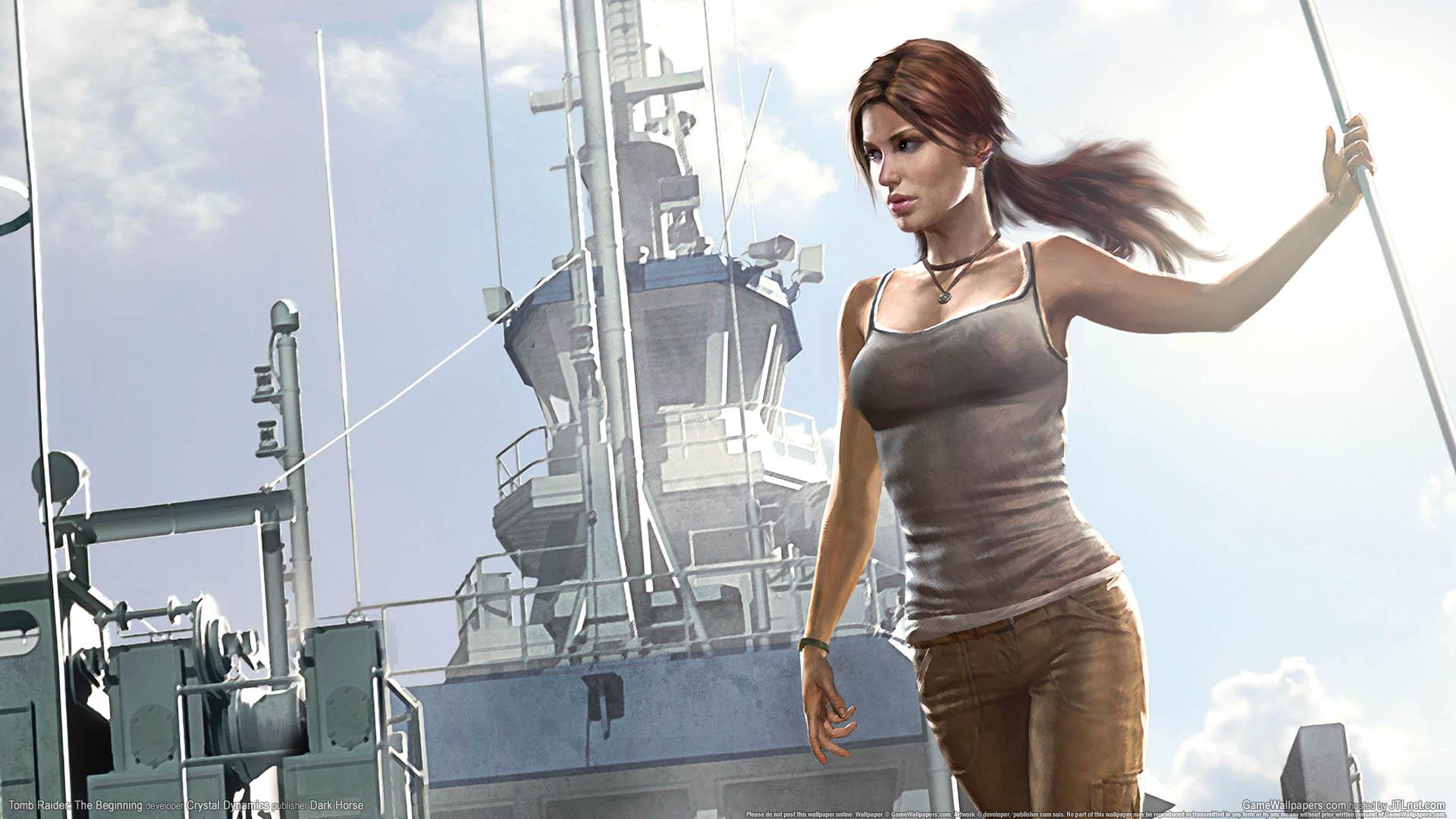 Tomb Raider: The Beginning achtergrond 01 1920x1080