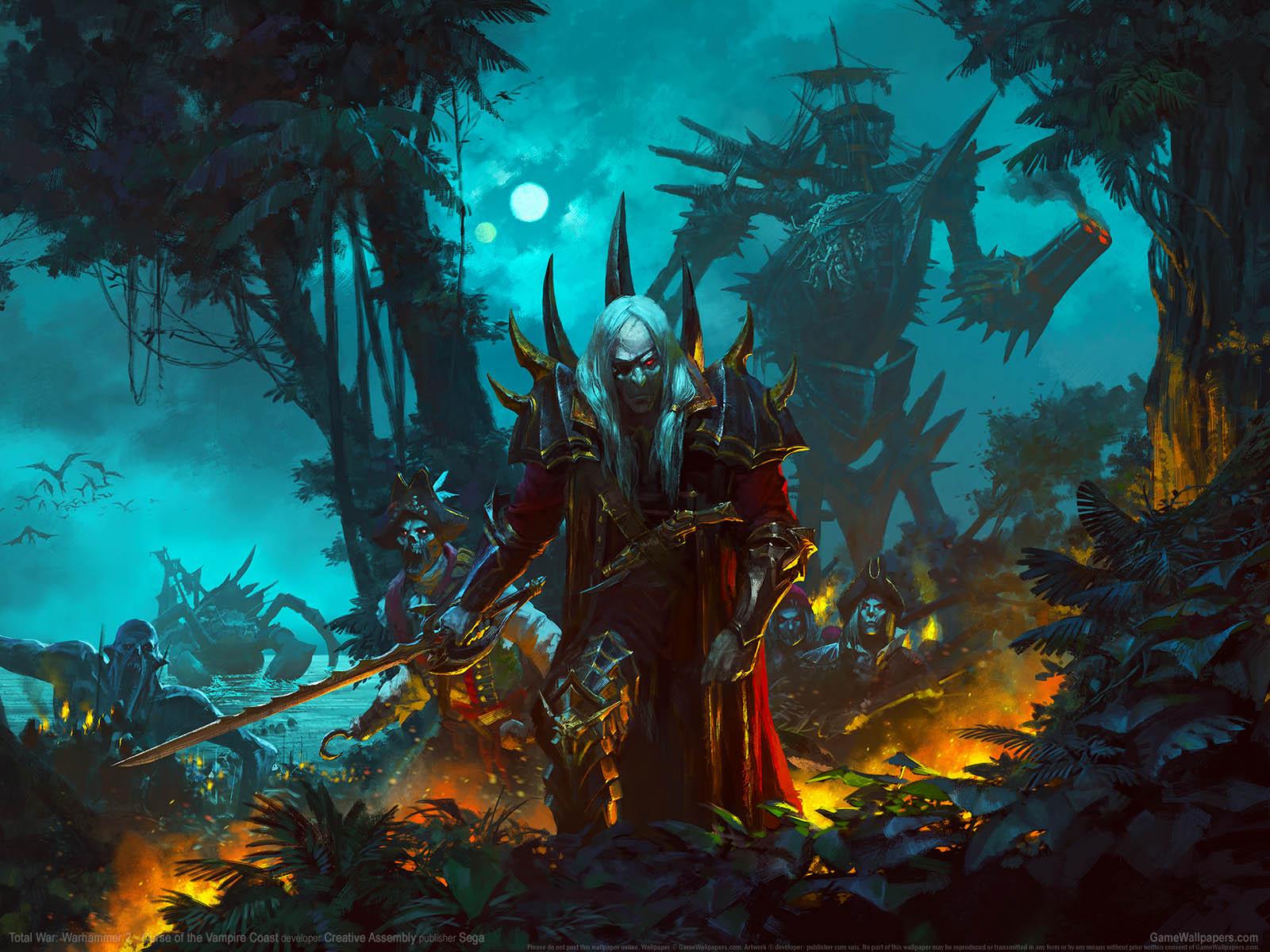 Total War: Warhammer 2 - Curse of the Vampire Coastνmmer=01 Hintergrundbild  1600x1200
