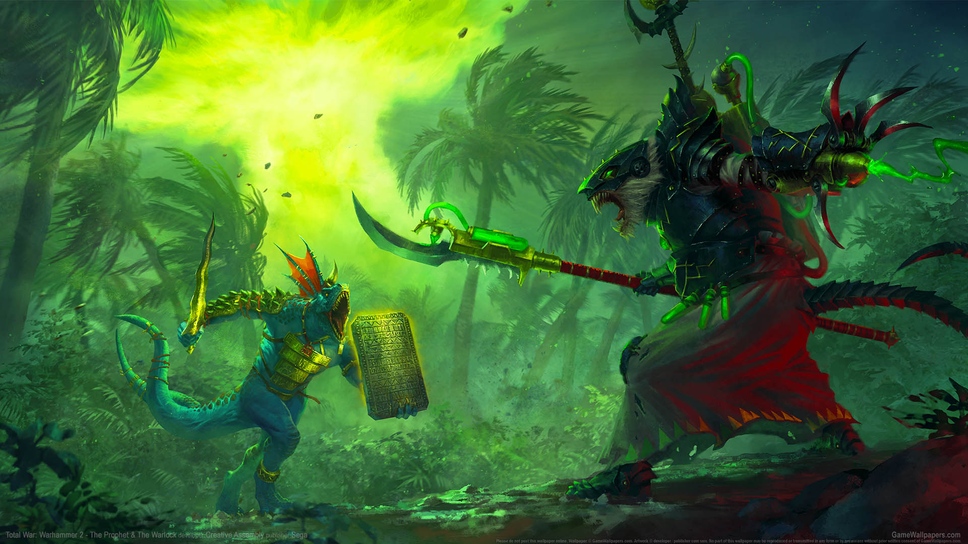 Total War: Warhammer 2 - The Prophet & The Warlock wallpaper 01 1920x1080