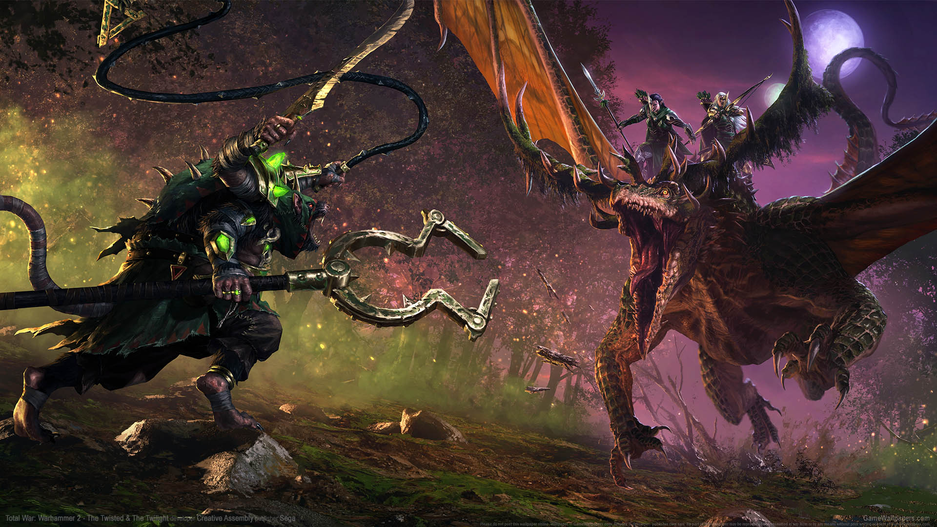 Total War: Warhammer 2 - The Twisted & the Twilight wallpaper 01 1920x1080