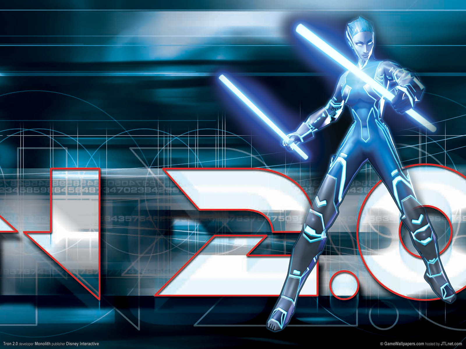 Tron 2.0 wallpaper 01 1600x1200