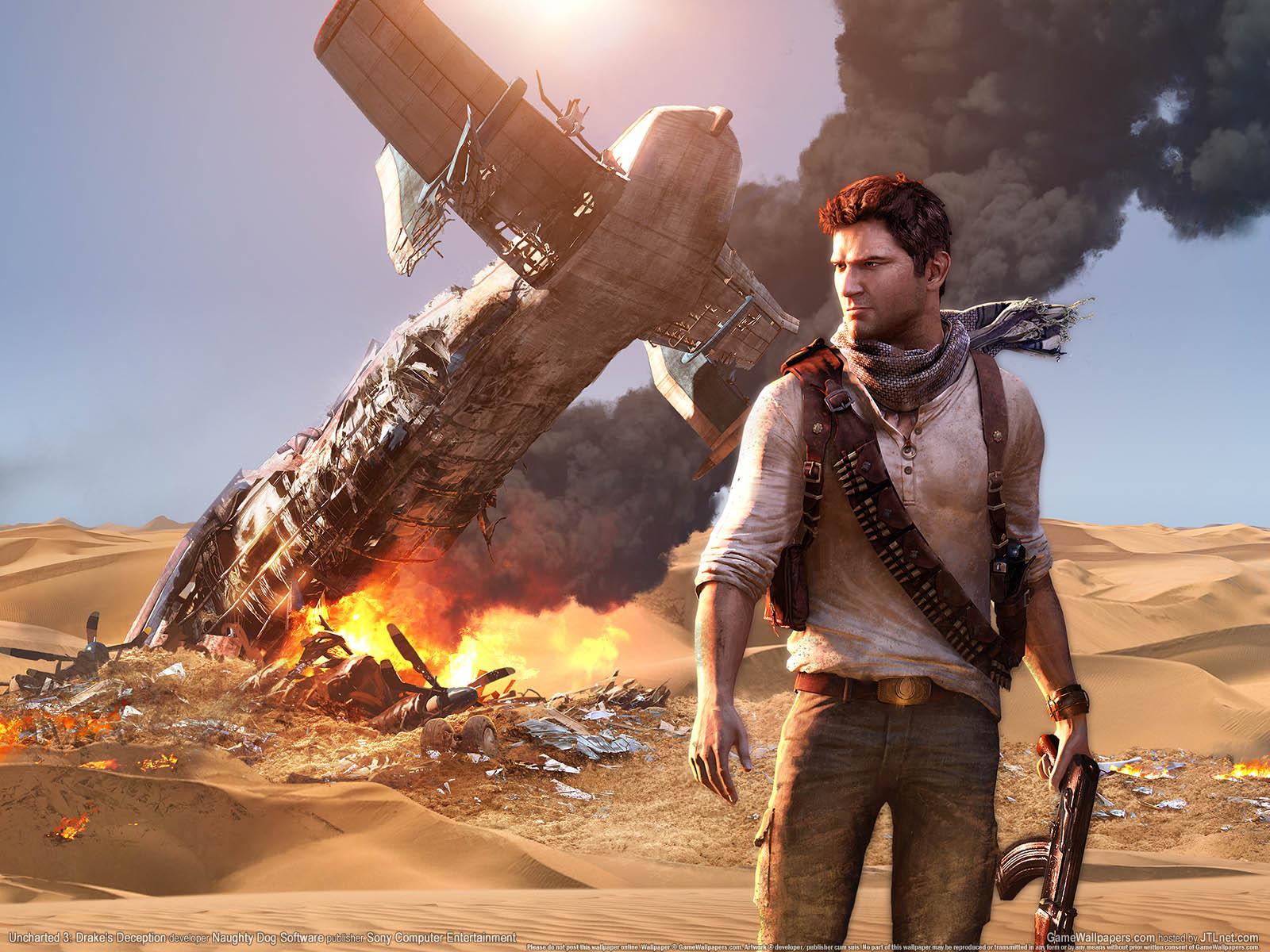 Uncharted 3: Drake's Deceptionνmmer=01 achtergrond  1600x1200