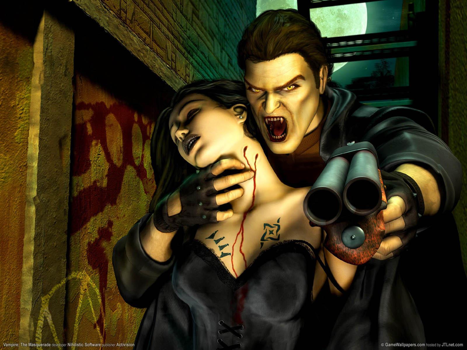 Vampire: The Masquerade fond d'écran 01 1600x1200