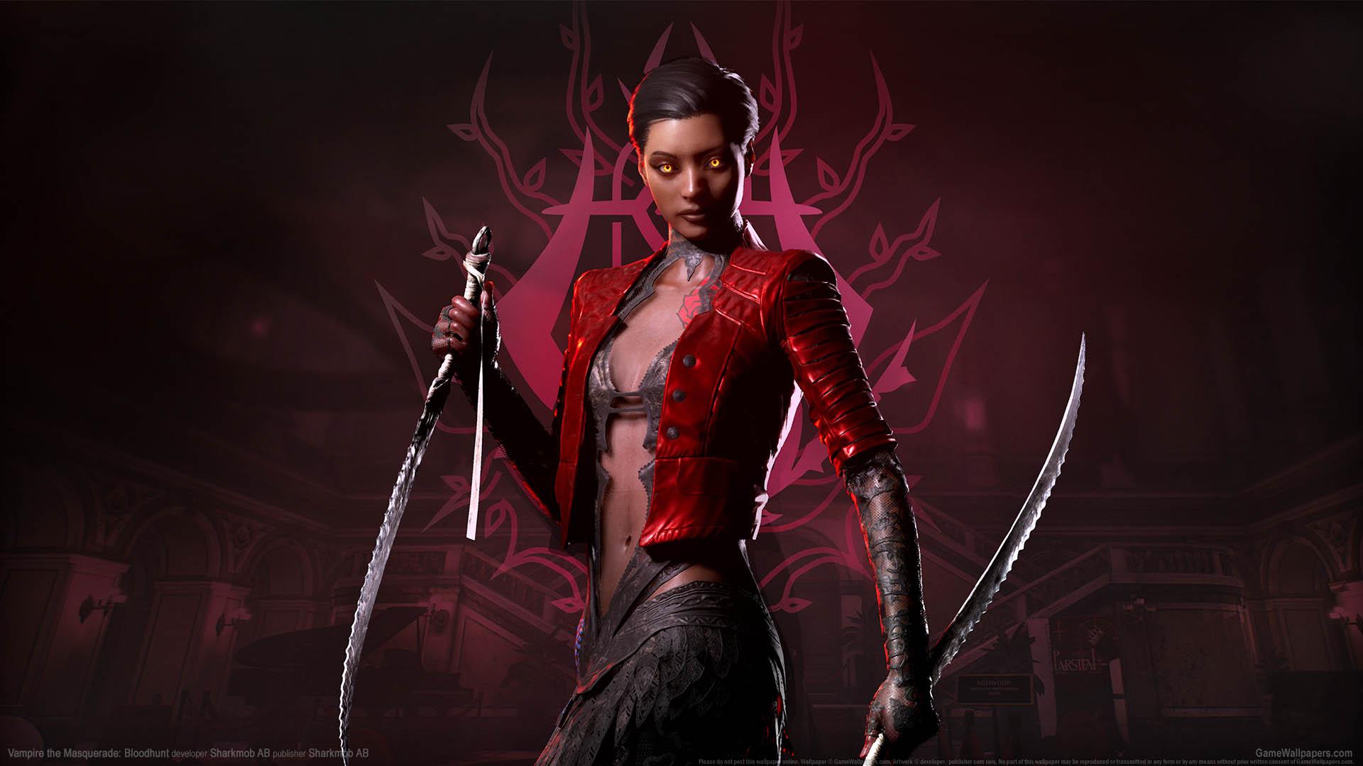 Vampire: The Masquerade Bloodhunt fondo de escritorio 02 1920x1080